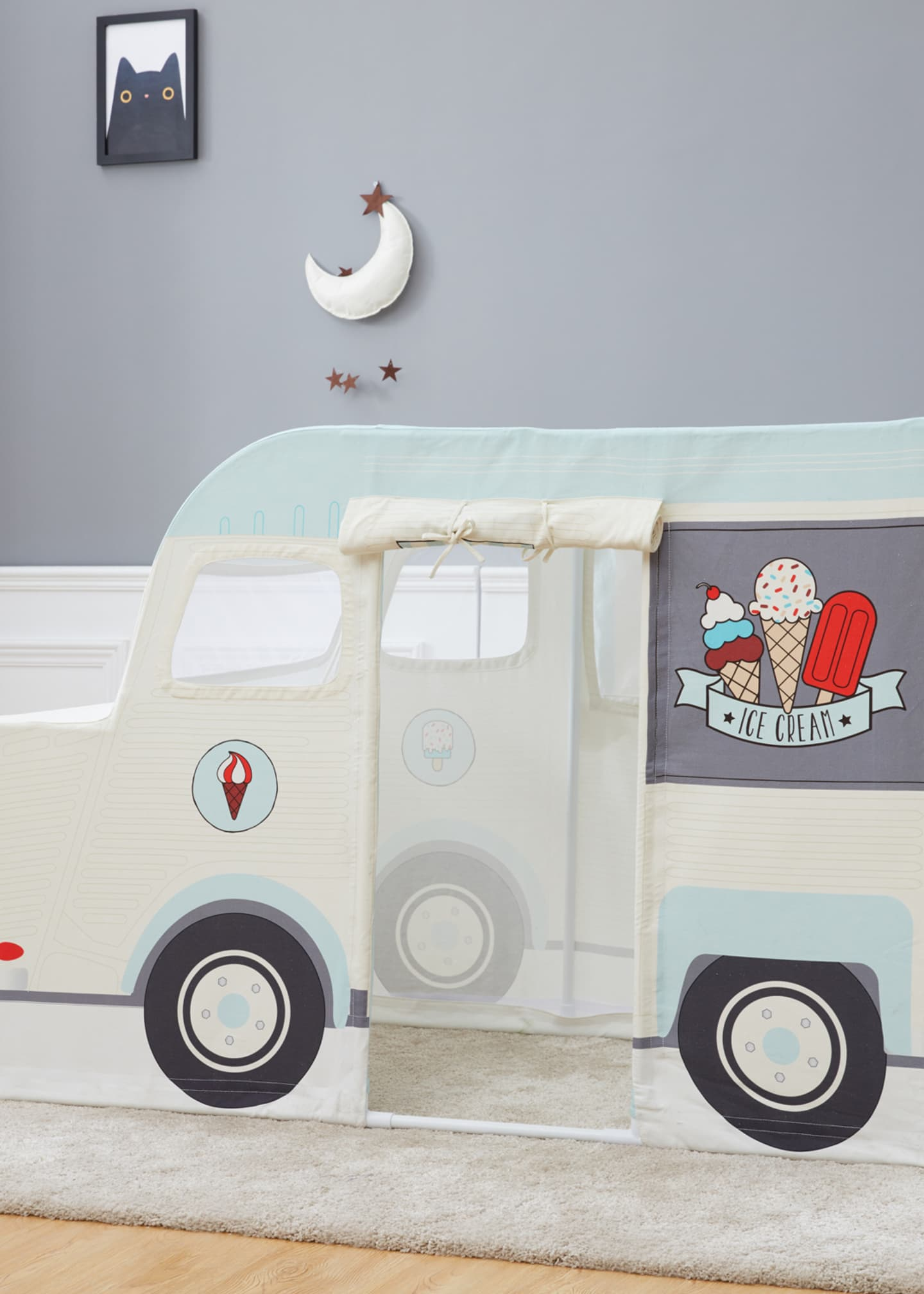ASWEETS Kids' Ice Cream Truck Play Tent