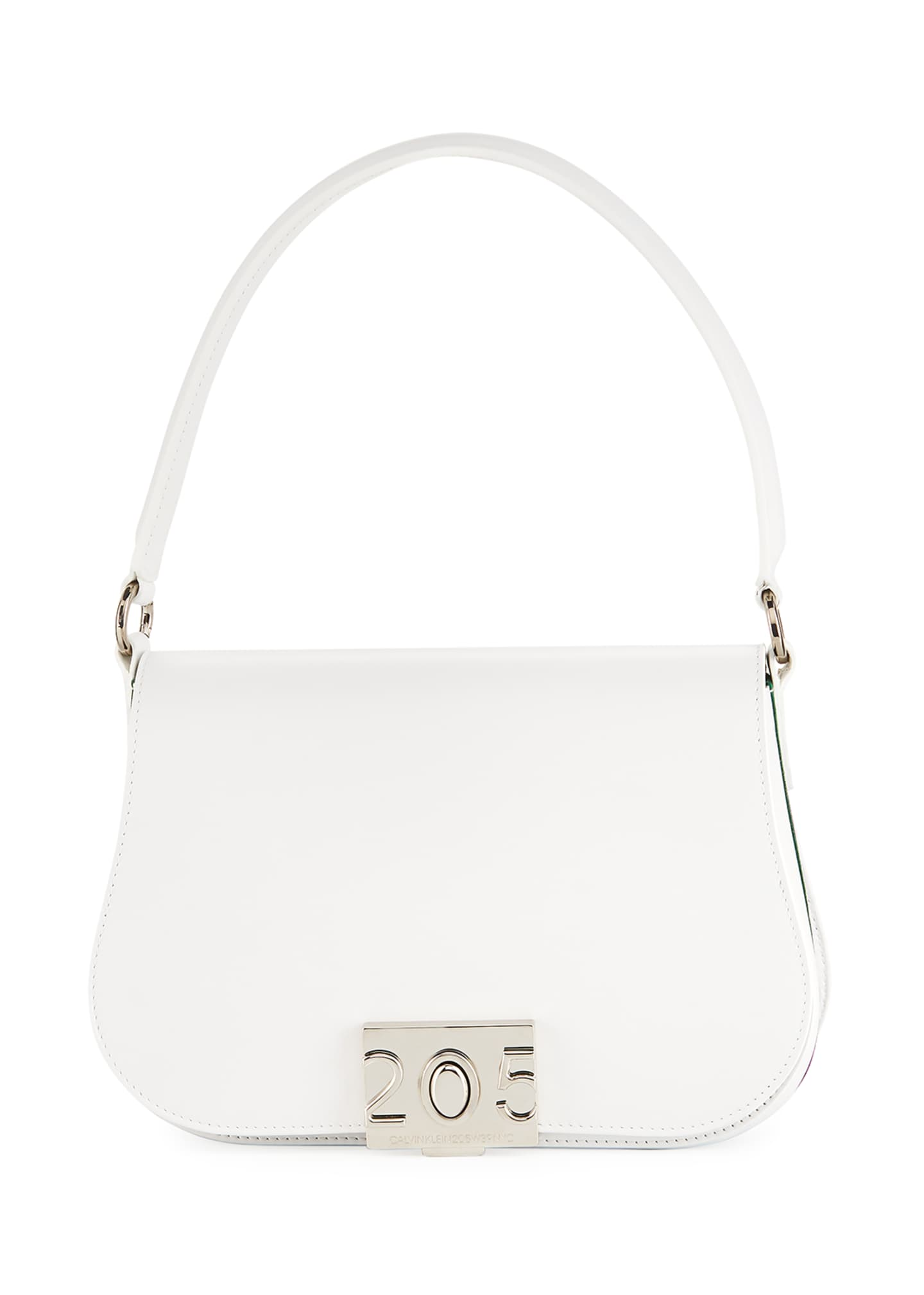 CALVIN KLEIN 205W39NYC Bonnie Smooth Shoulder Bag