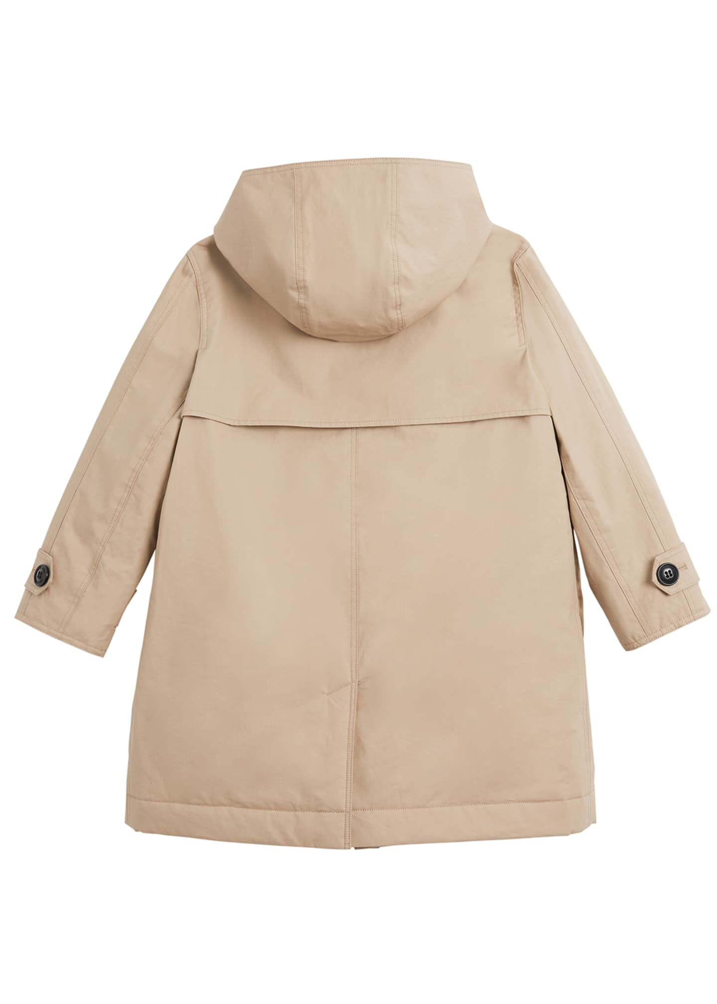 Image 2 of 2: Bradley Hooded Trench Coat, Size 3-14
