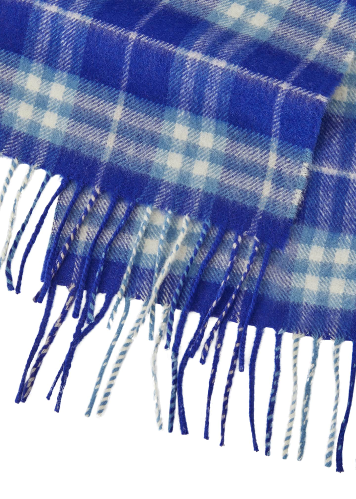 Image 2 of 2: Kids' Cashmere Vintage Check Scarf
