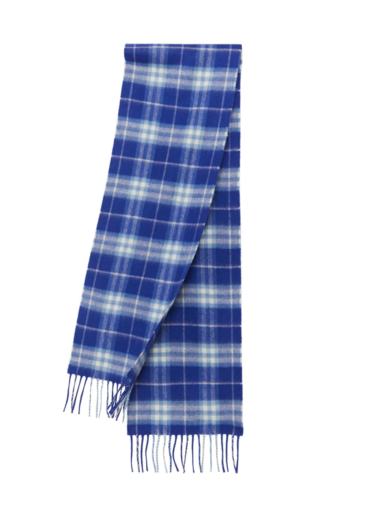 Image 1 of 2: Kids' Cashmere Vintage Check Scarf