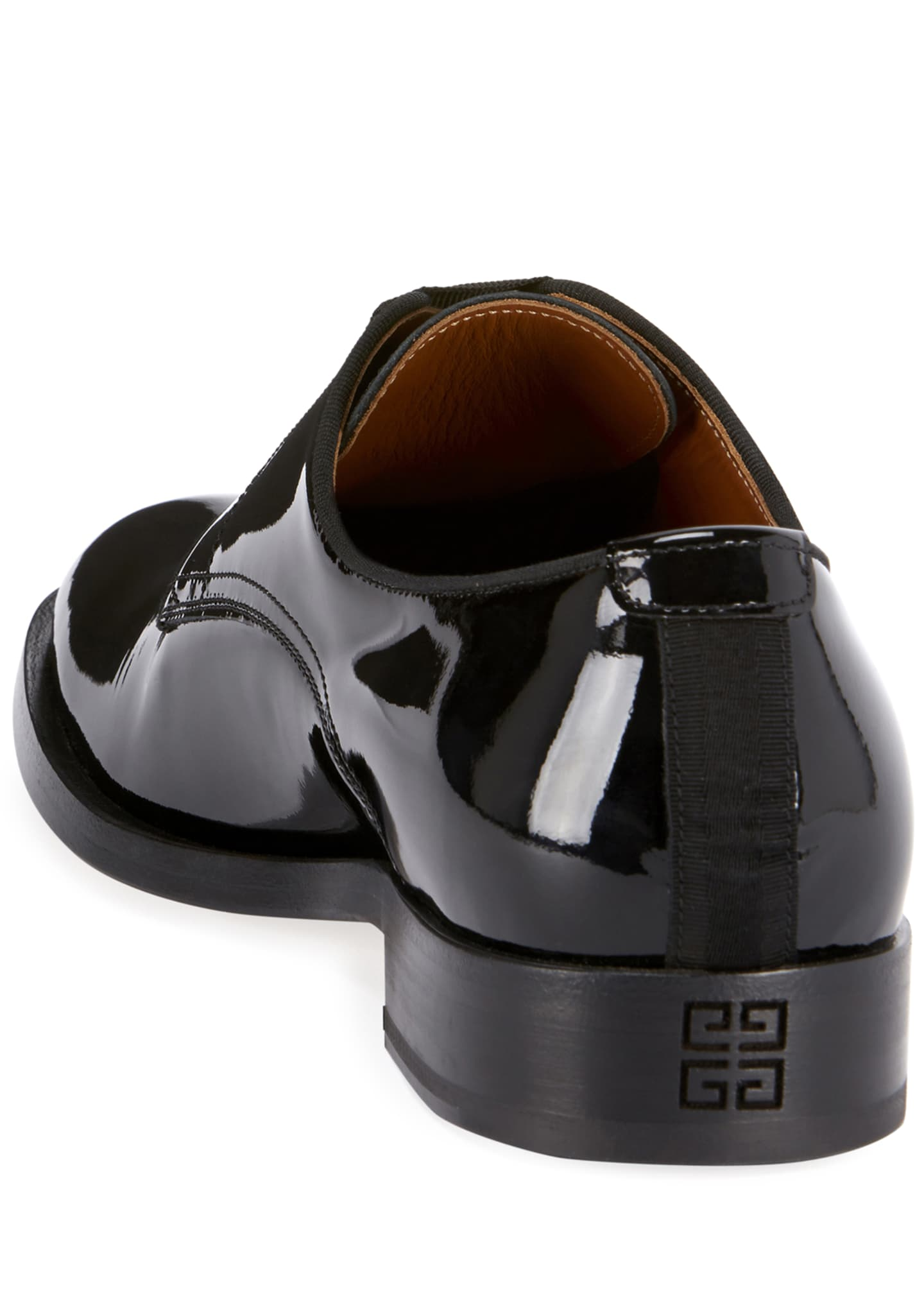 Image 3 of 3: Men's Rider Lace-Up Derby Shoes in Leather