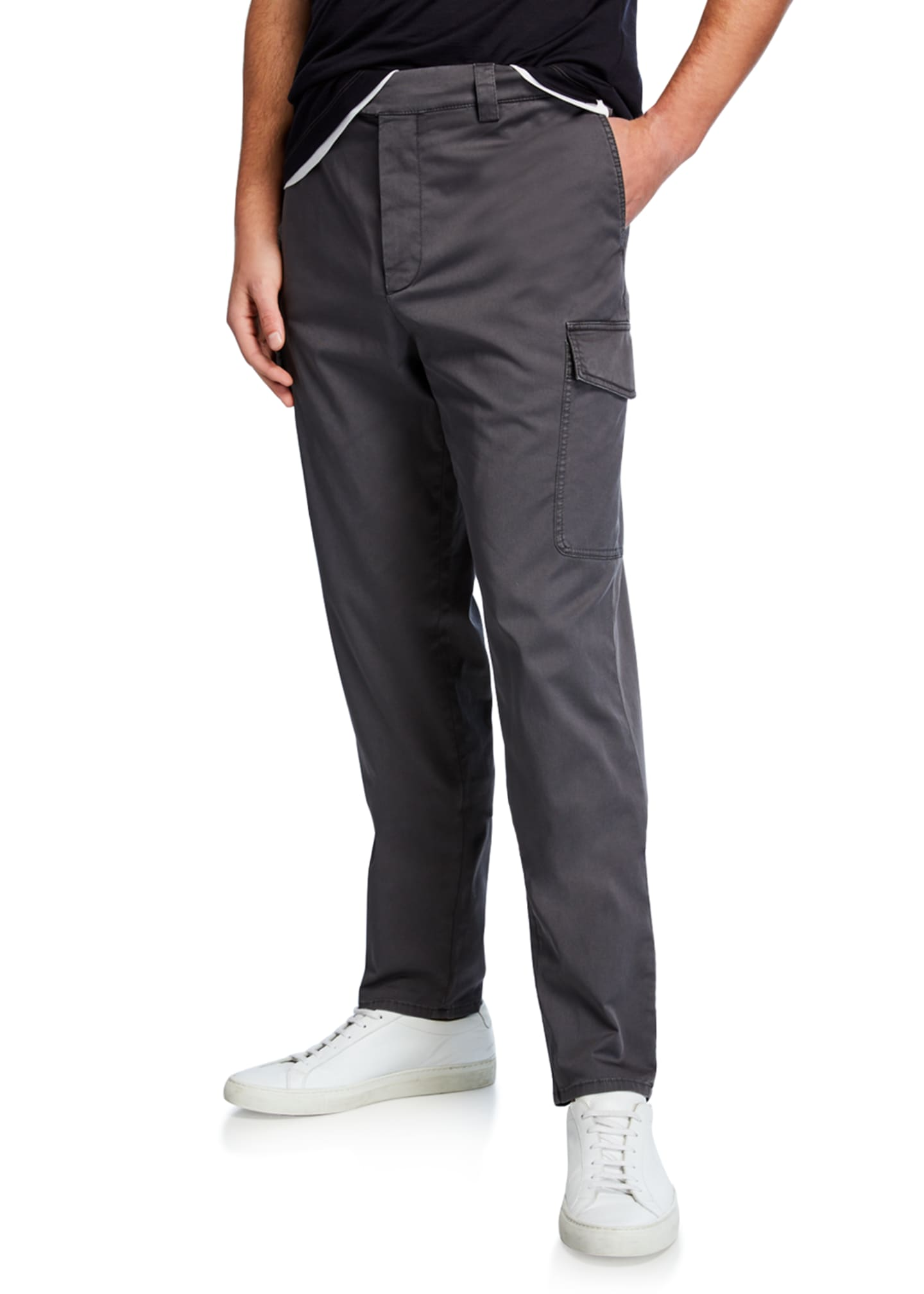 Brunello Cucinelli Men's Leisure-Fit Cargo Pants