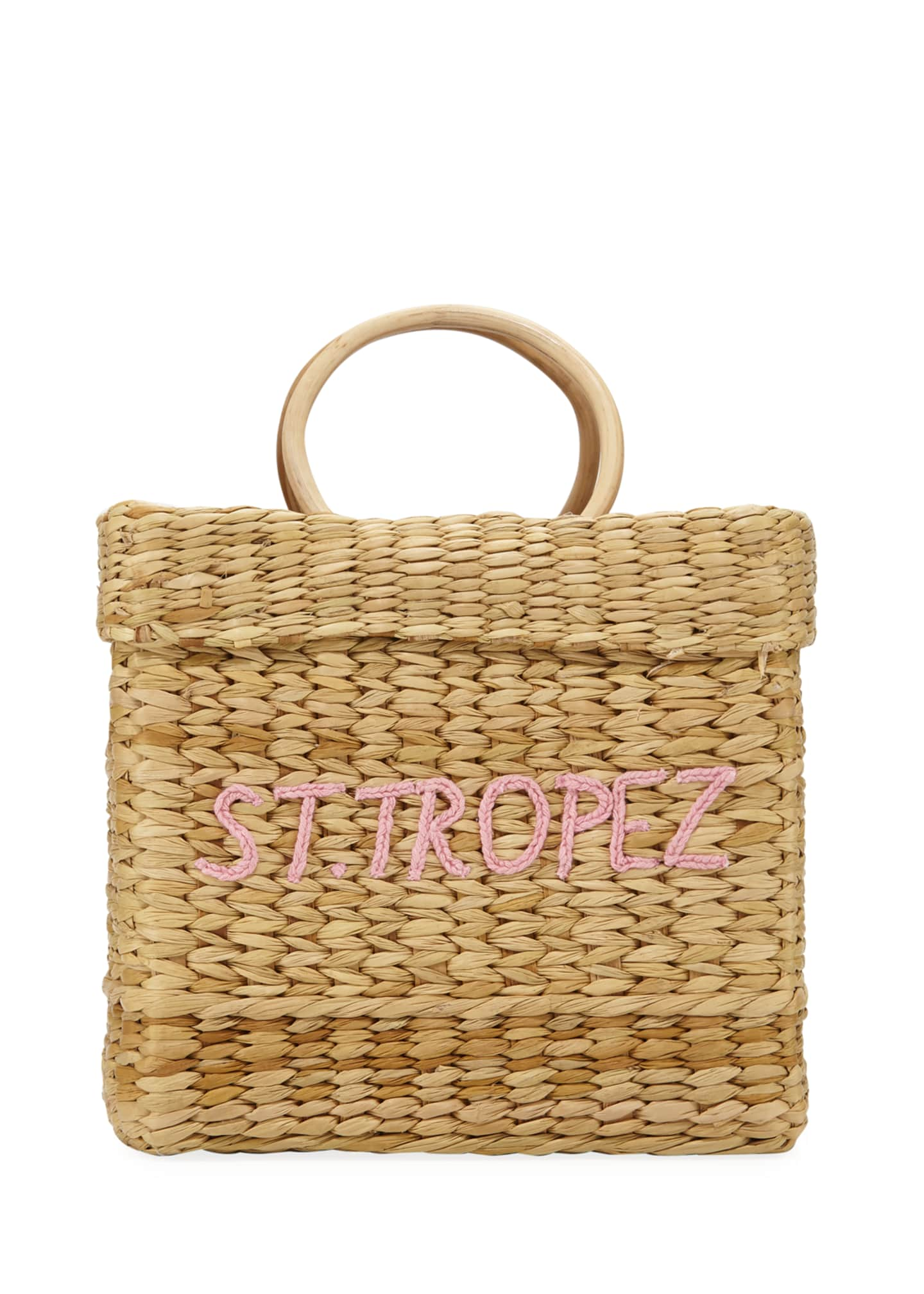 POOLSIDE St. Tropez The Tori Top Handle Bag