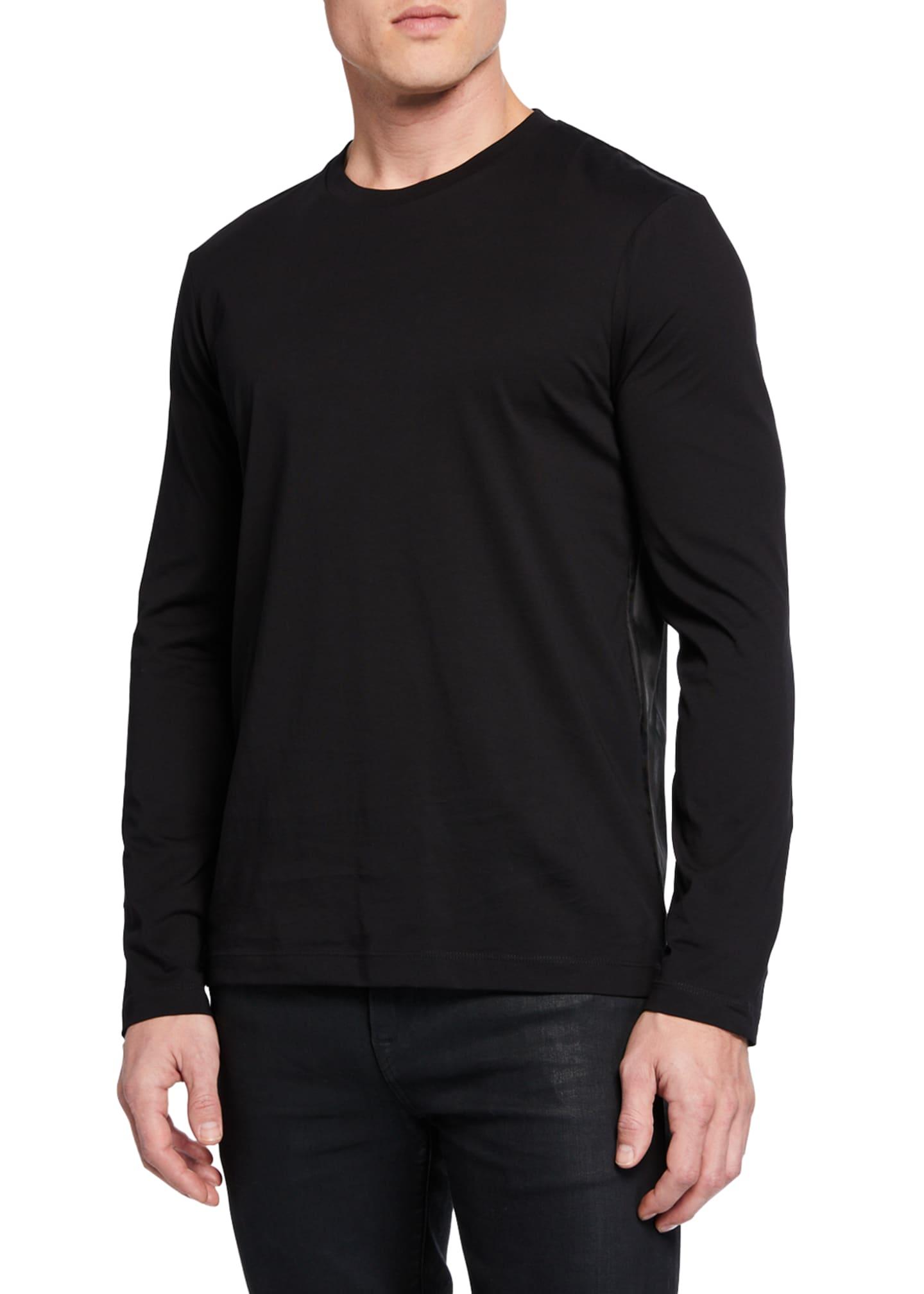 Helmut Lang Men's Sport Stripe Crew T-Shirt