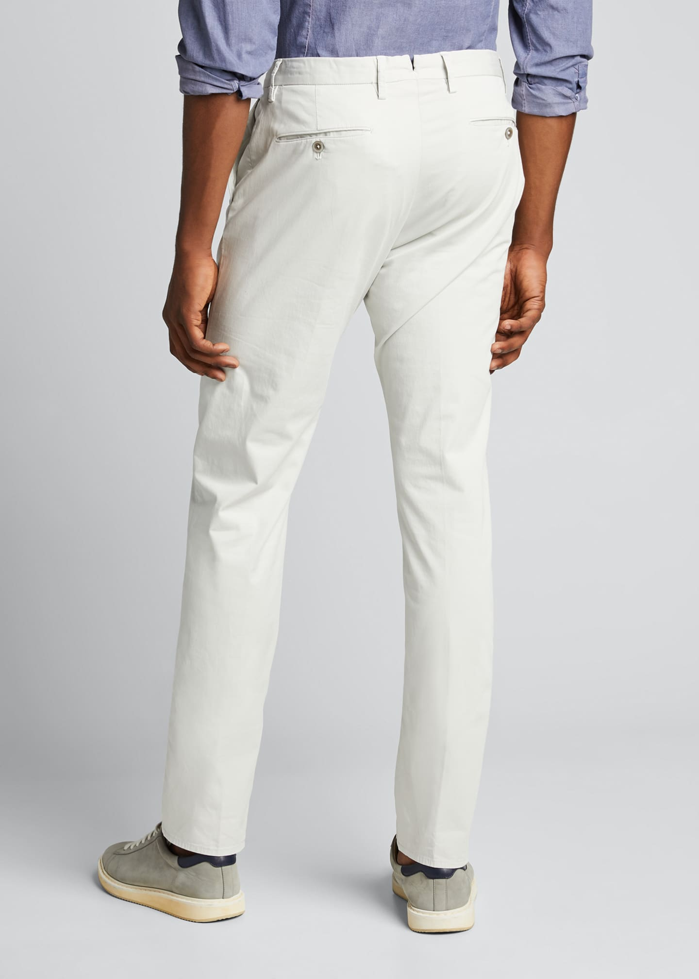 Image 2 of 5: Men's Garment Dye Stretch Poplin Pants