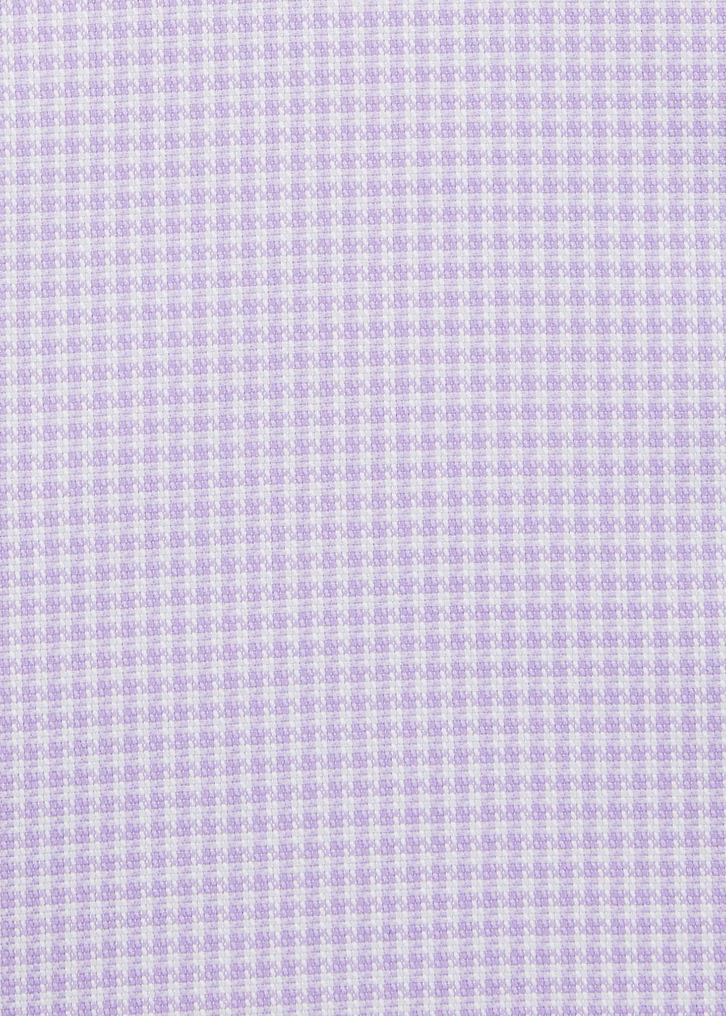 Image 2 of 2: Men's Ventiquattro Houndstooth Check Dress Shirt