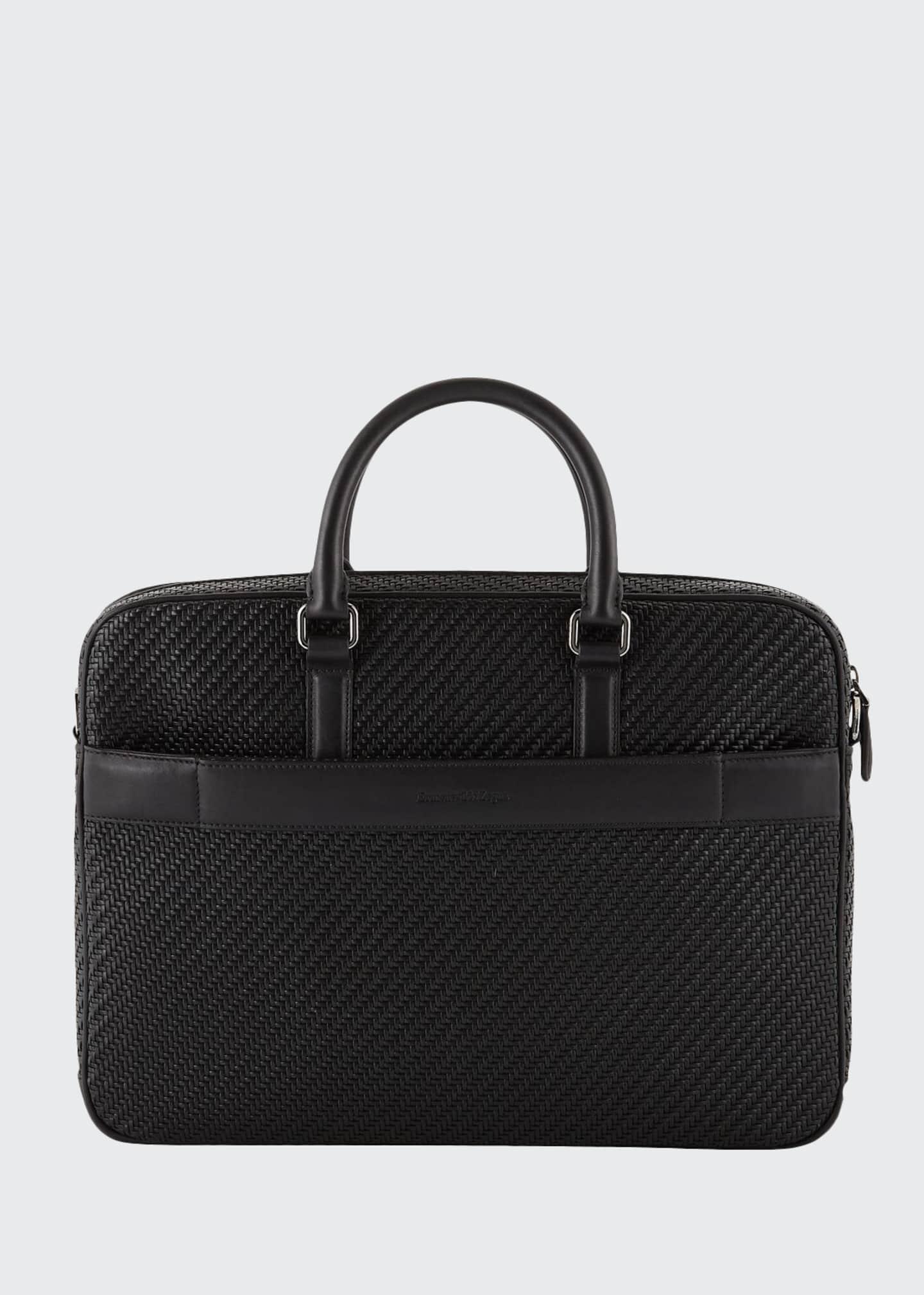 Ermenegildo Zegna Men's Pelle Business Bag