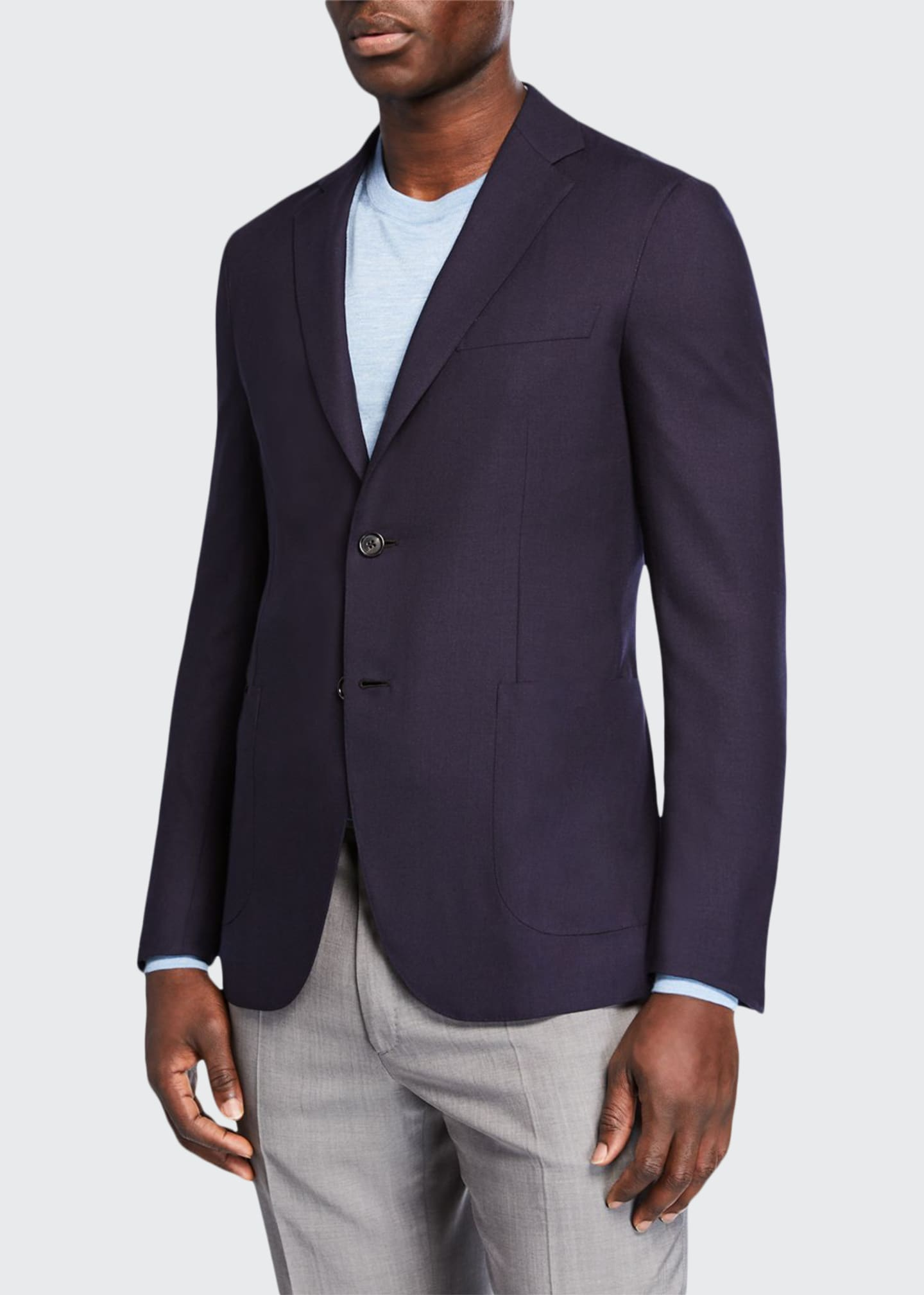 Brioni Men's Cashmere Two-Button Jacket