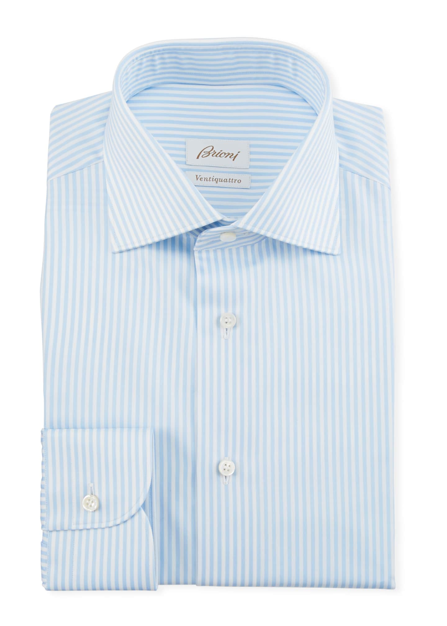 Brioni Men's Bengal Dress Shirt