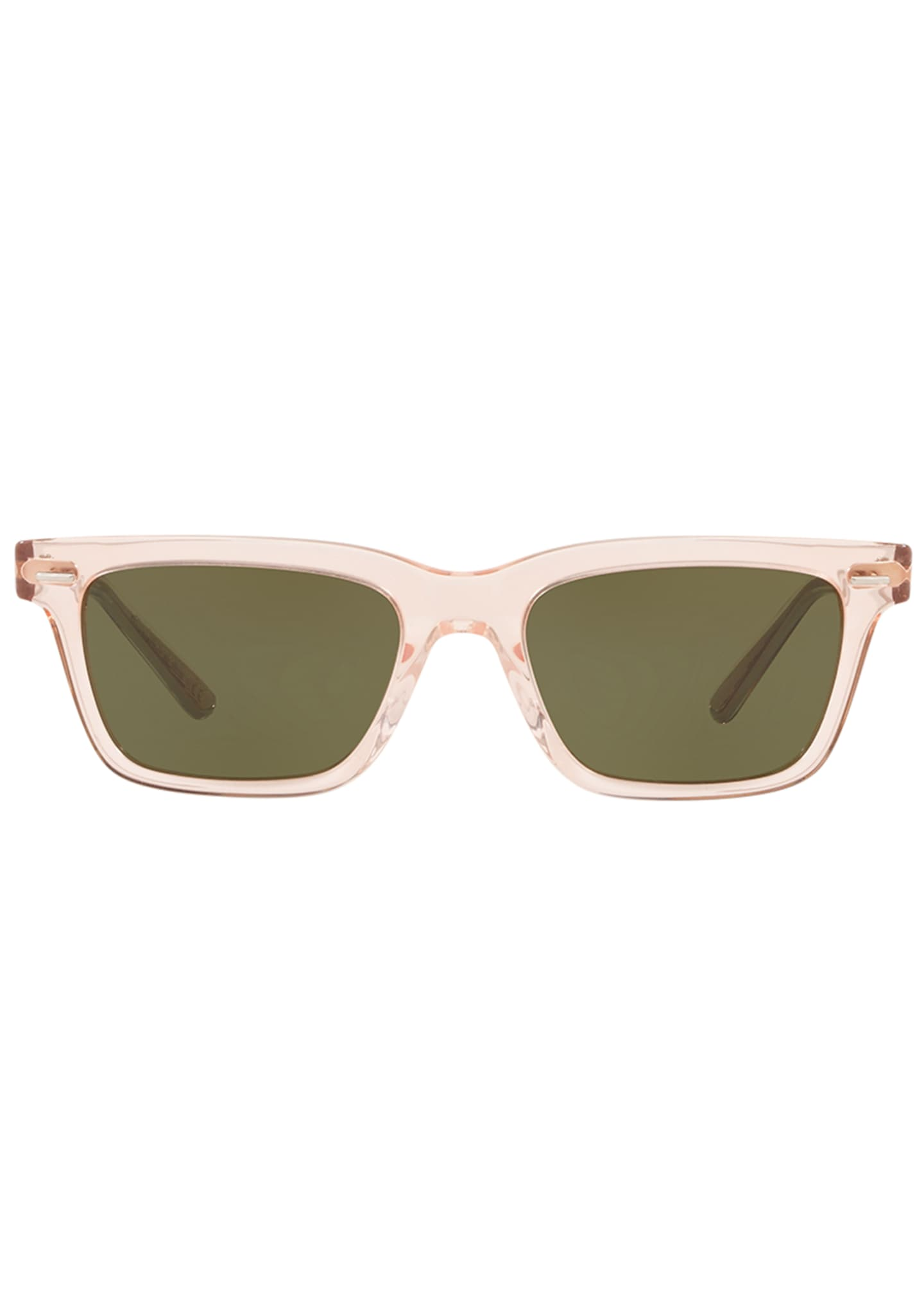 Image 2 of 2: BA CC Rectangle Acetate Sunglasses