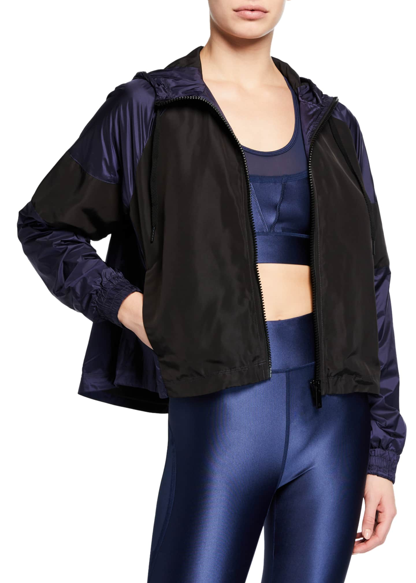 Alala Colorblock Hooded Track Jacket