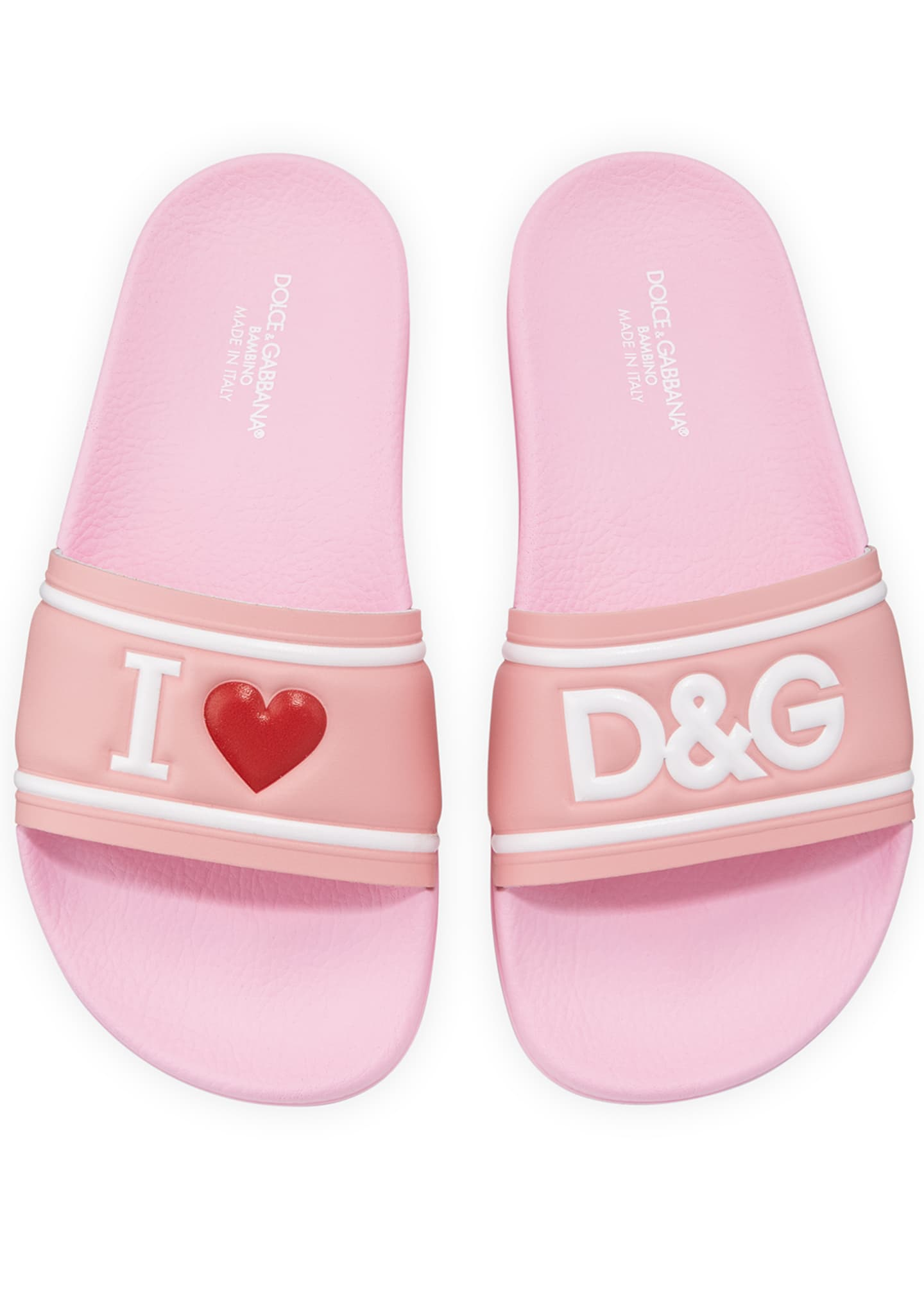 Dolce & Gabbana Leather I Heart D&G Pool