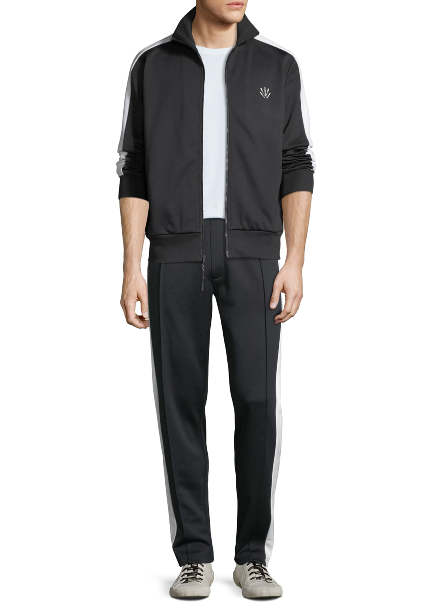 Image 3 of 4: Men's Straight-Leg Club Track Pants