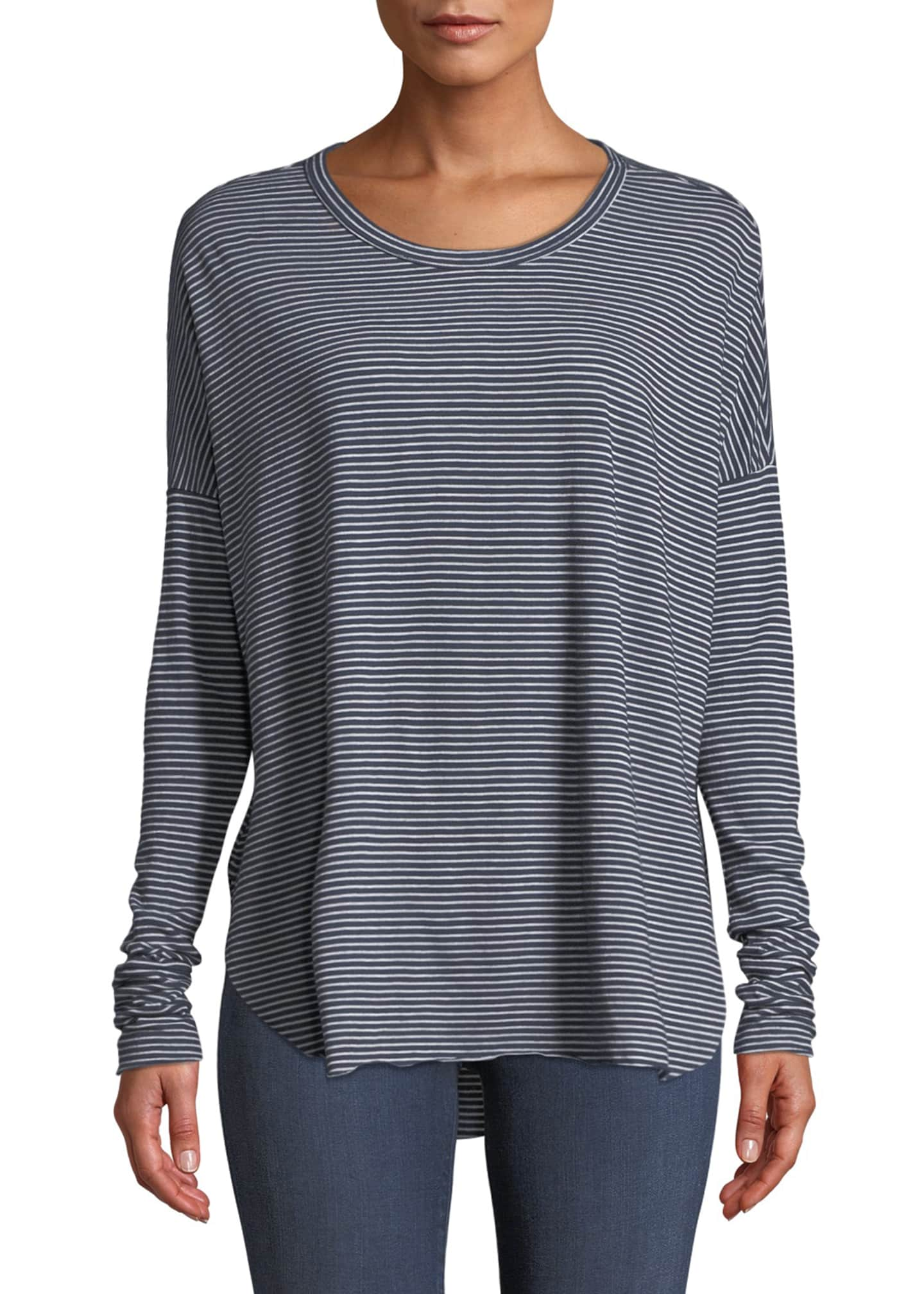 Frank & Eileen Tee Lab Relaxed Striped Long-Sleeve