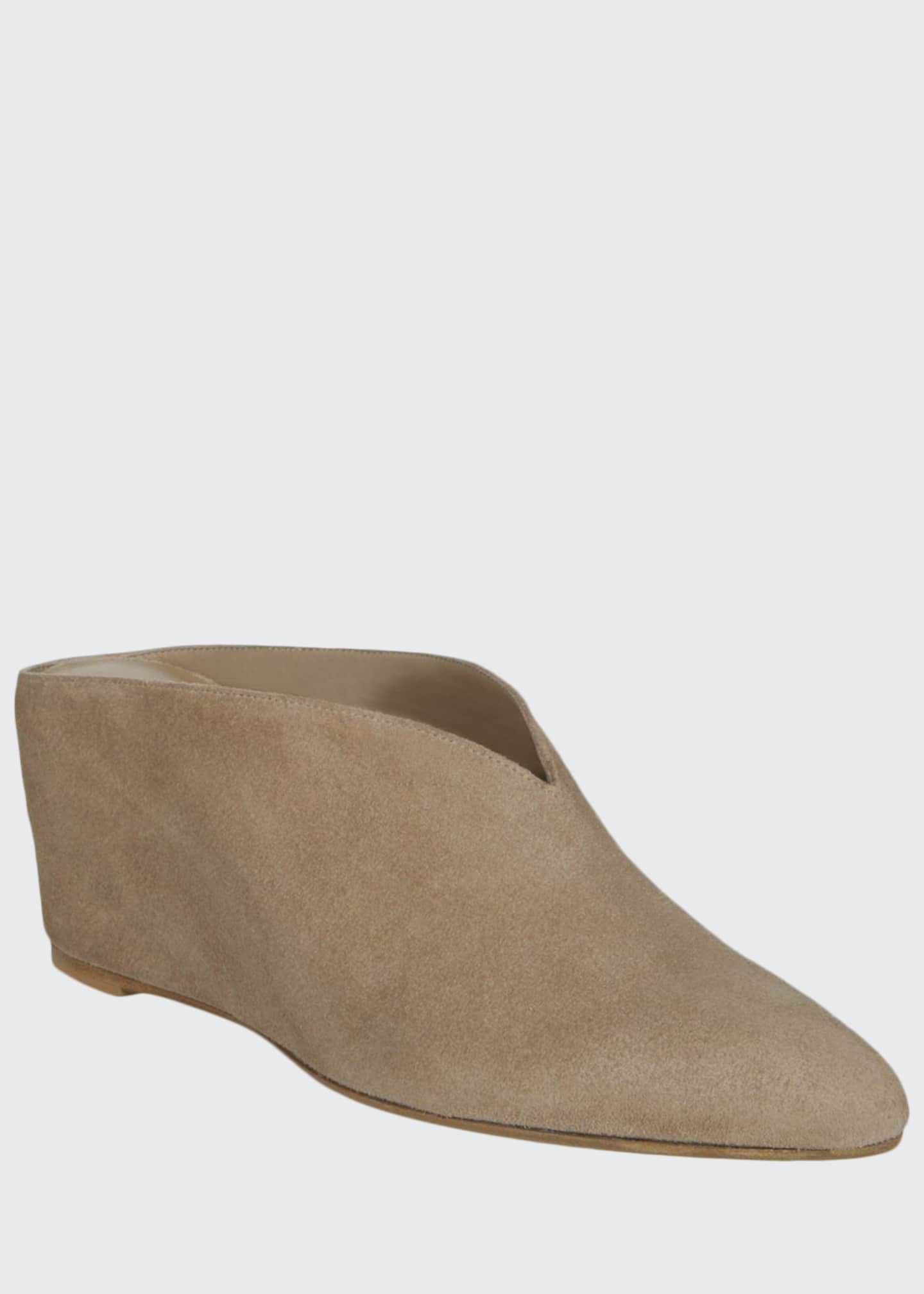 Vince Kai Wedge Suede Mules