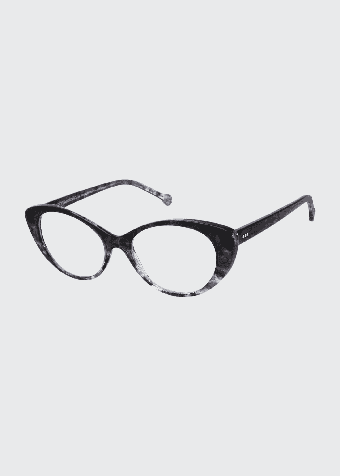Image 1 of 1: Cat-Eye Acetate Reading Glasses