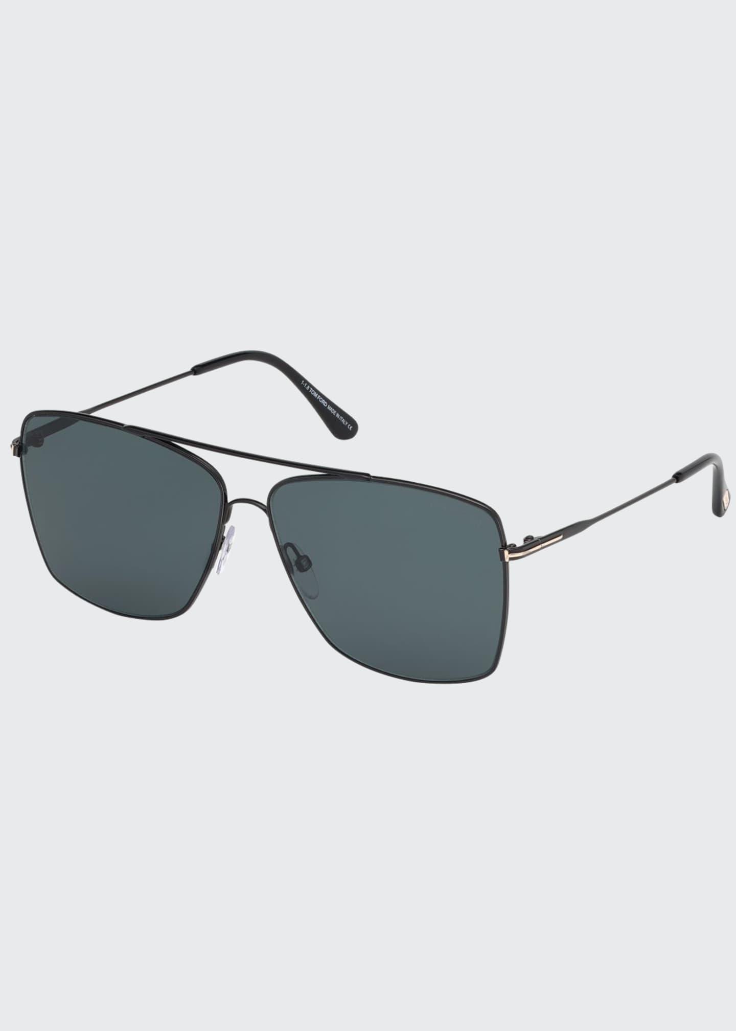 TOM FORD Men's Magnus Gunmetal Sunglasses