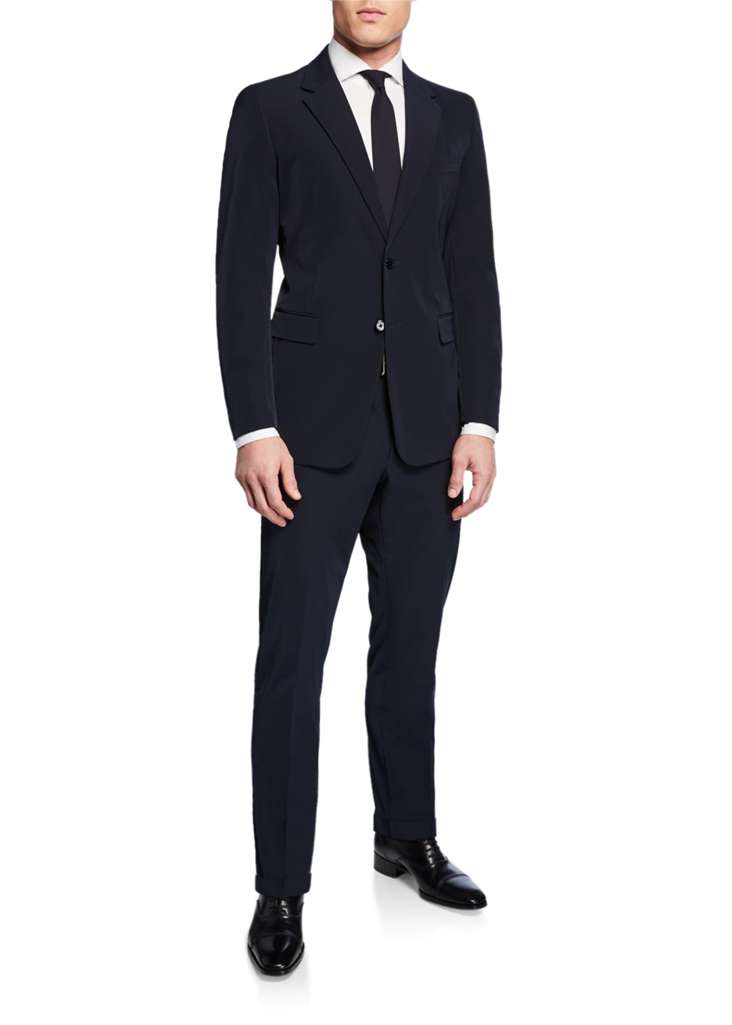 Image 2 of 3: Men's Techno-Stretch Two-Piece Suit