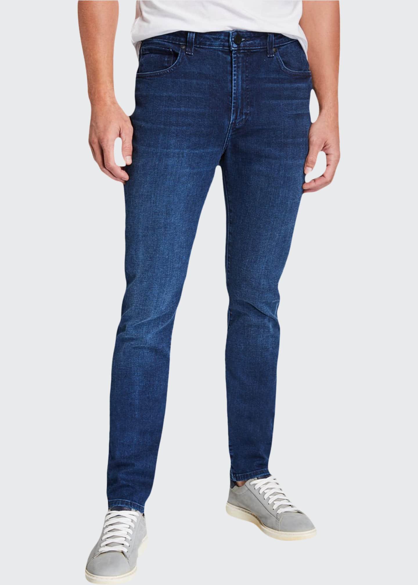 monfrere Men's Straight-Fit Jeans