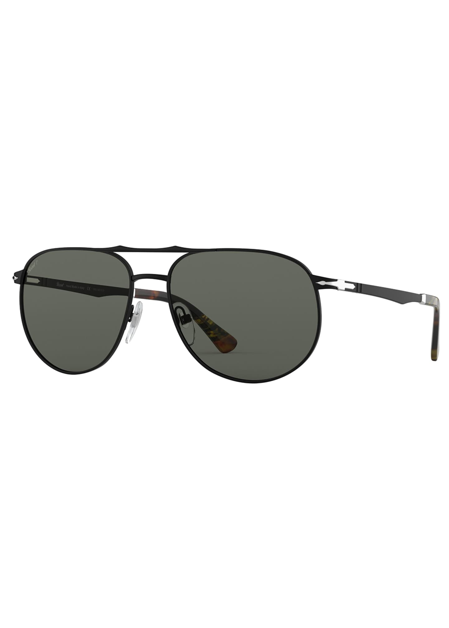 Persol Men's PO2455S Metal Sunglasses