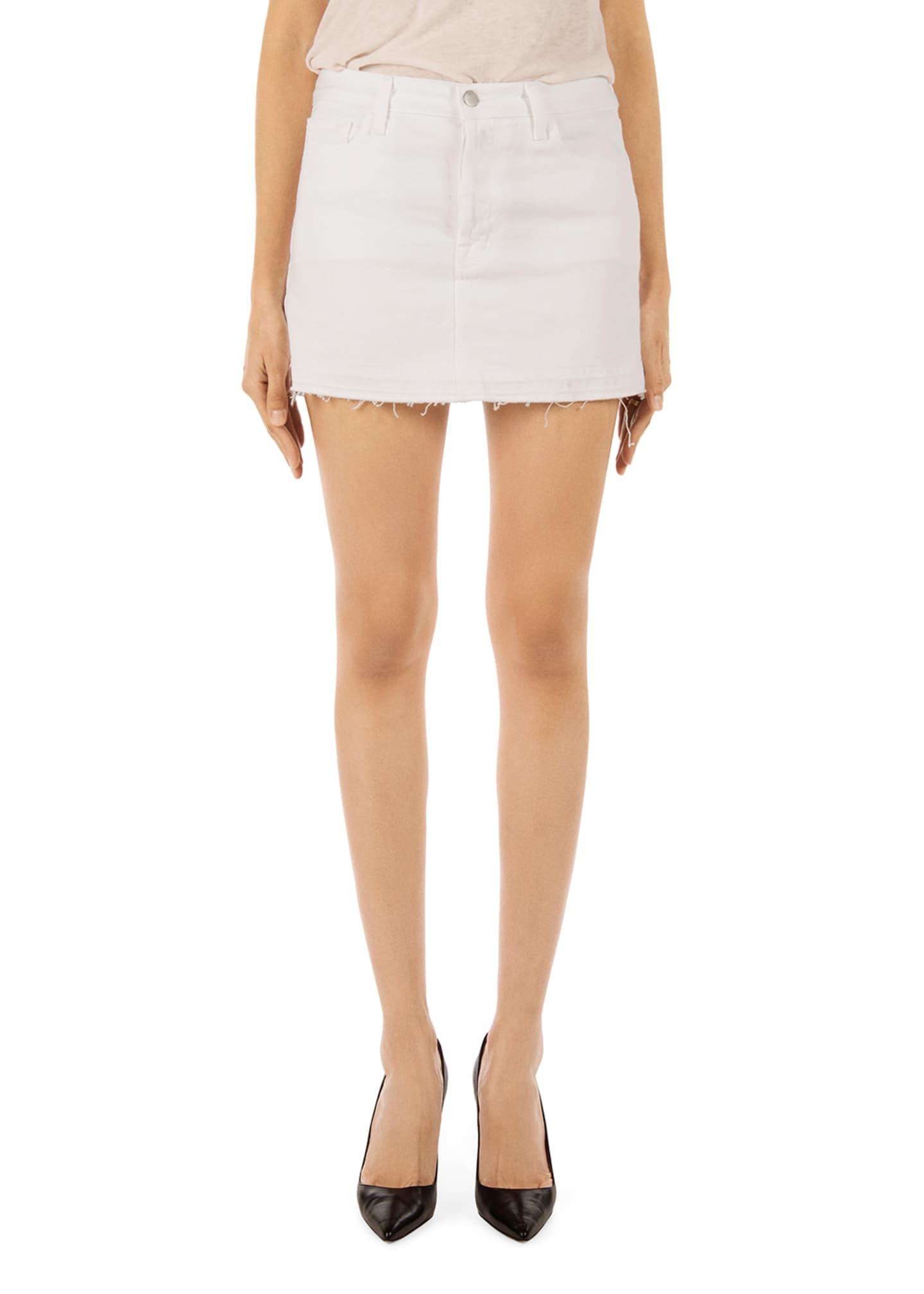 J Brand Bonny Denim Mini Skirt