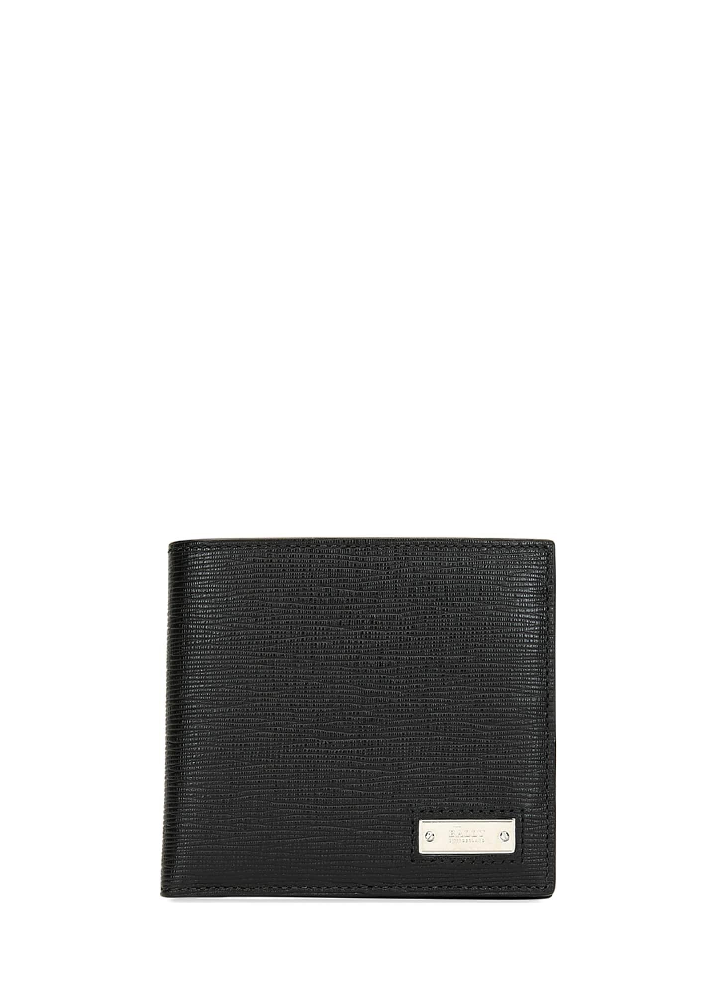 Bally Men's Beisel Leather Bi-Fold Wallet