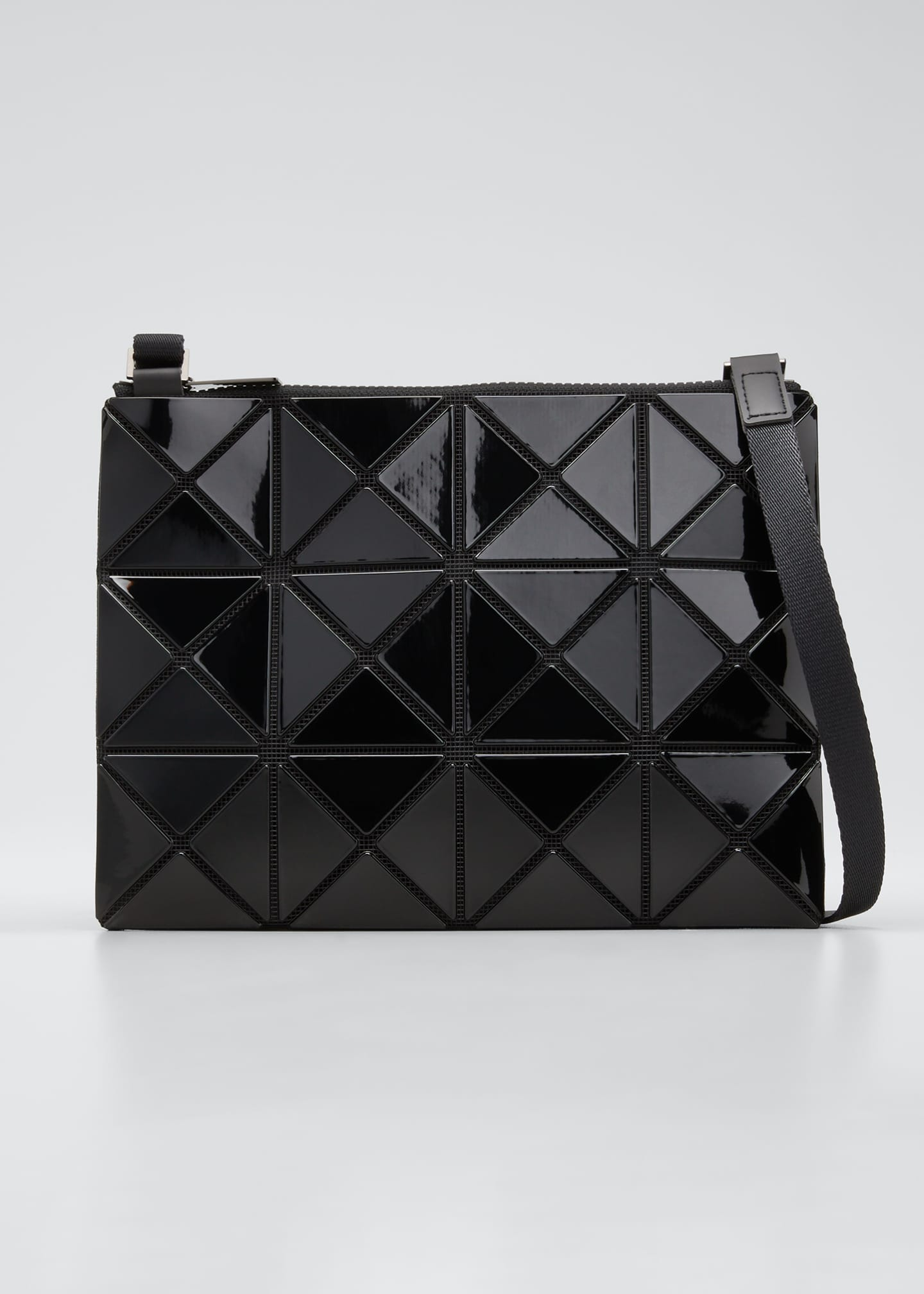 Lucent Geo Tile Crossbody Clutch Bag