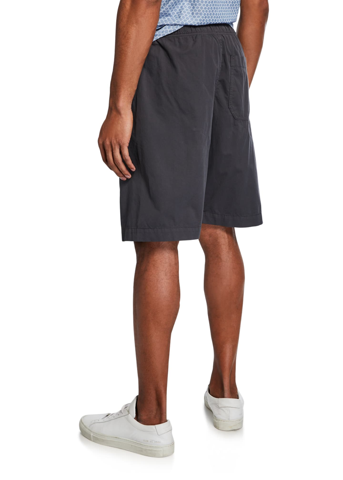 Image 2 of 3: Men's Cotton Jogger Shorts