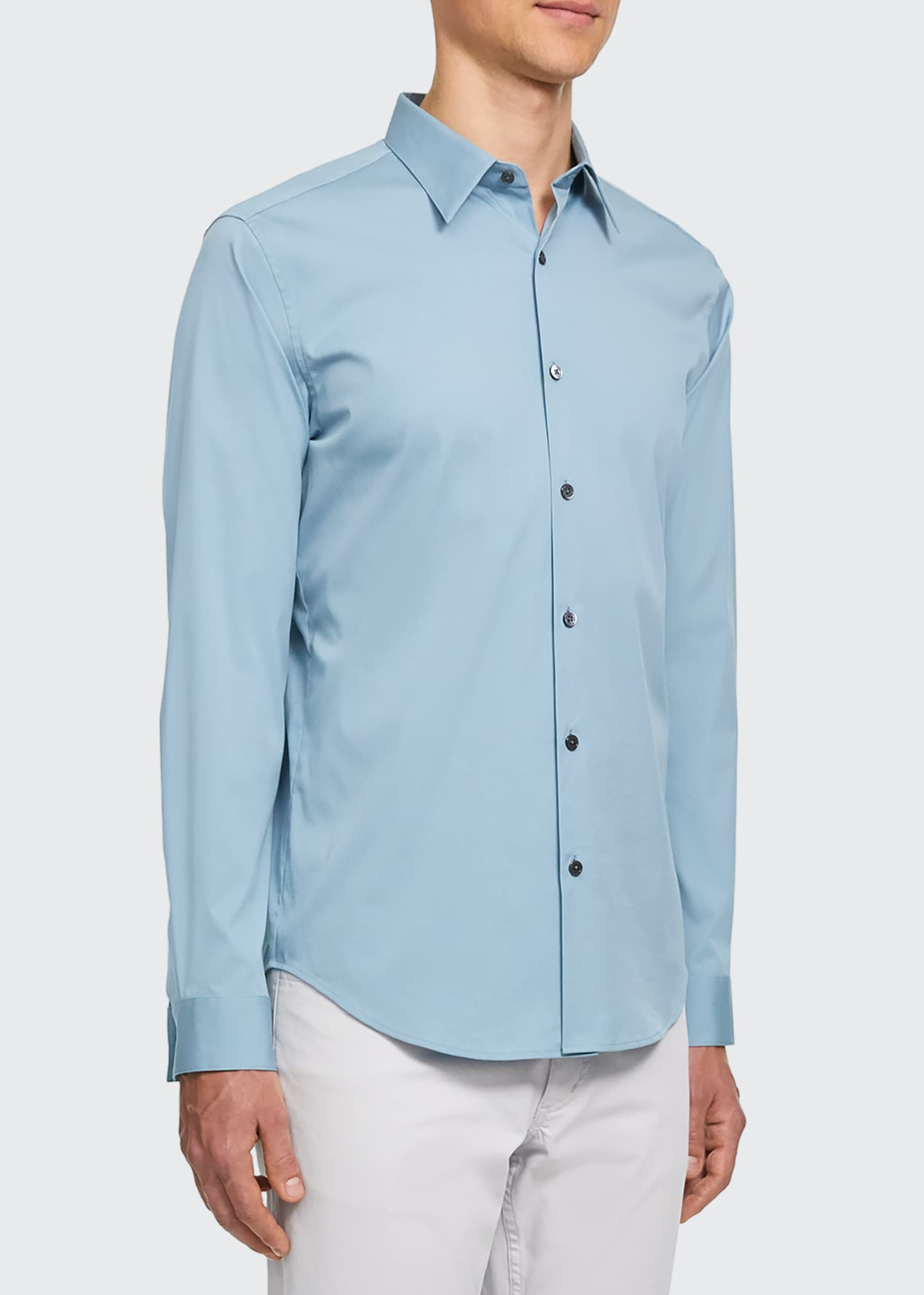 Image 2 of 2: Men's Sylvain Cotton Sport Shirt
