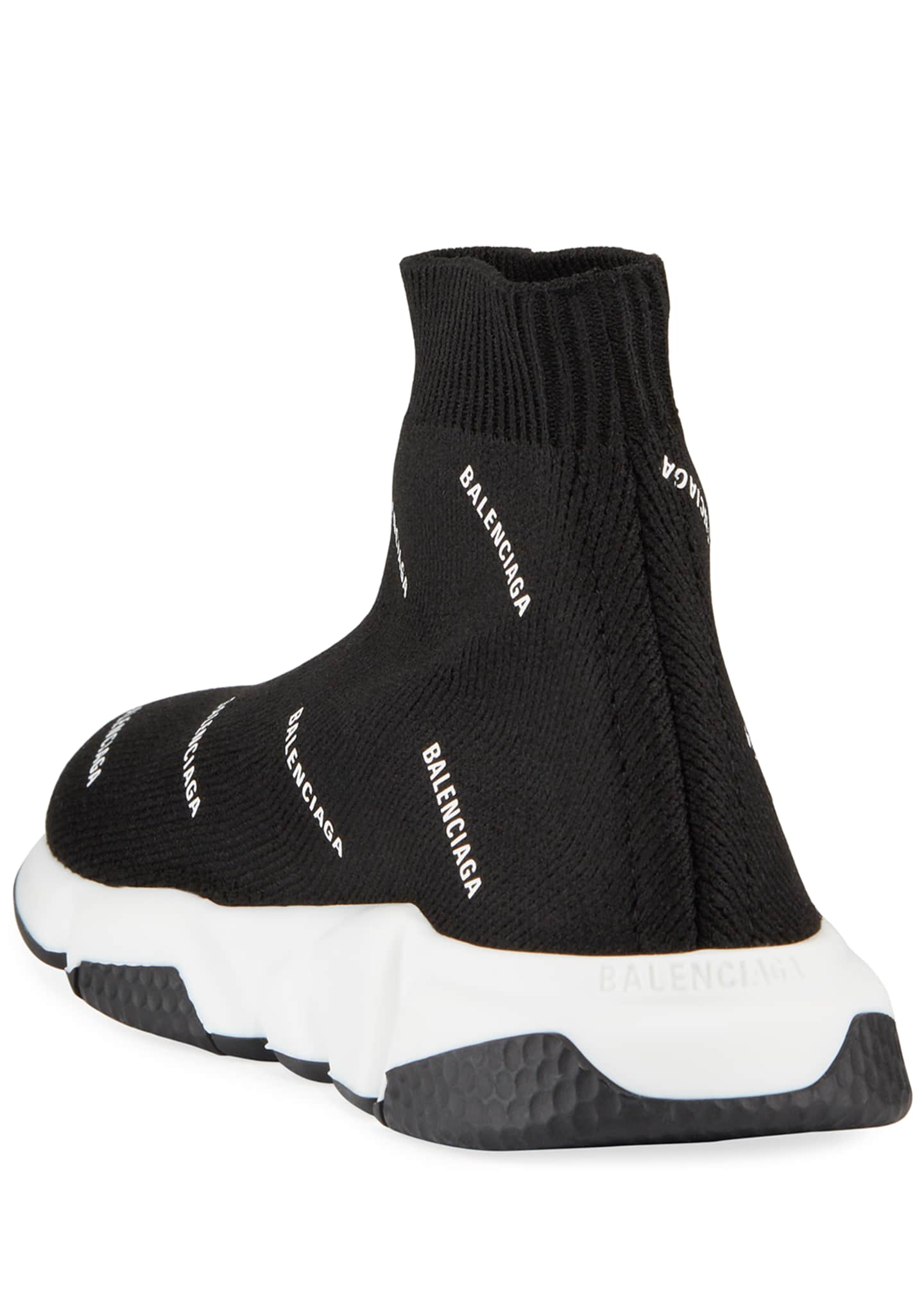 Image 4 of 4: Kids' Tall Speed Knit Sock Sneakers, Toddler/Kids