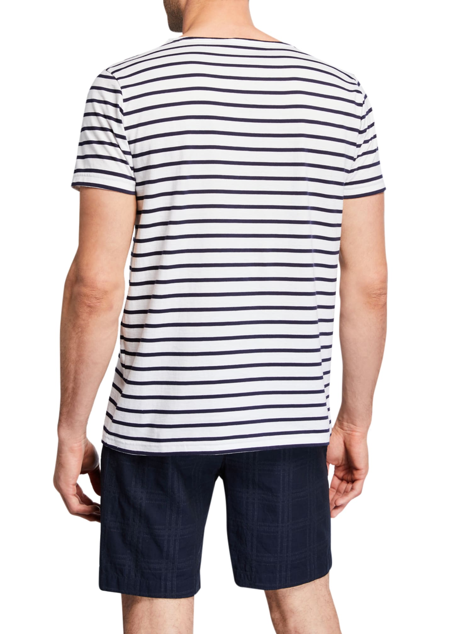 Image 2 of 2: Men's Mariniere MC Heritage Stripe T-Shirt