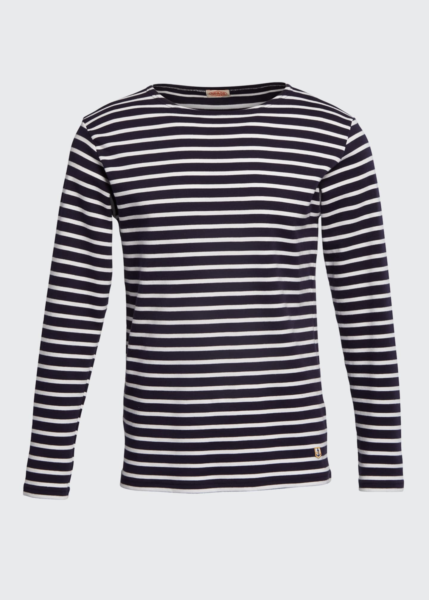 Image 5 of 5: Men's Marinire Heritage Striped Long-Sleeve T-Shirt