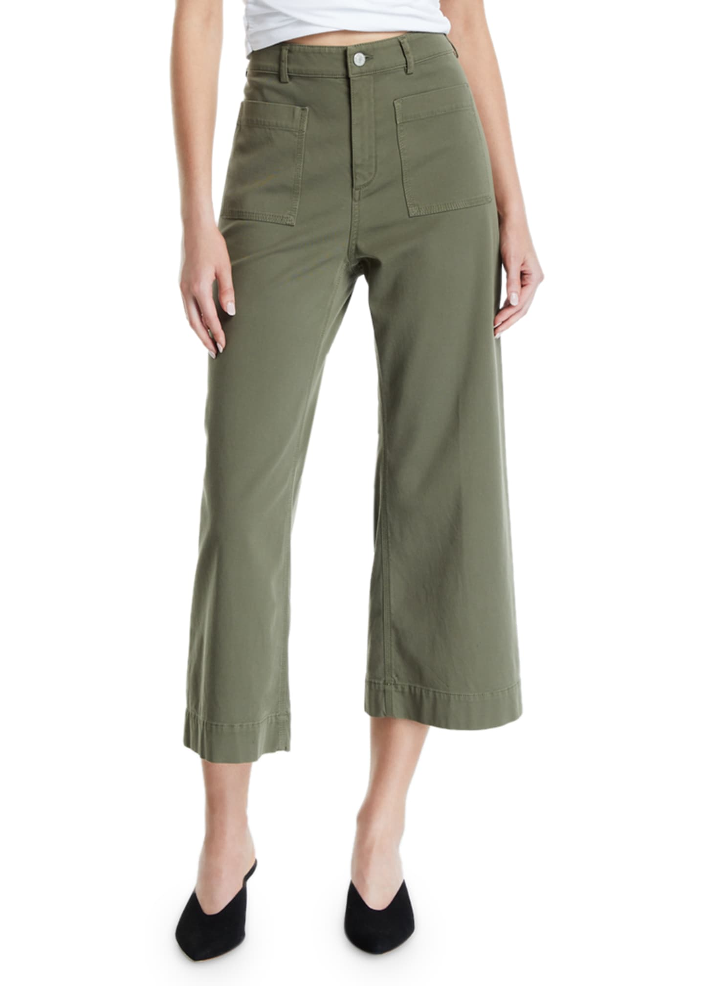 Image 3 of 3: Fallon Cropped Pants