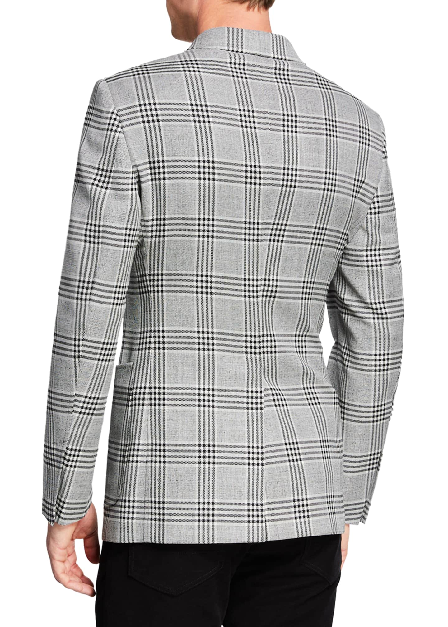 Image 2 of 3: Men's O'Connor Plaid Two-Button Jacket