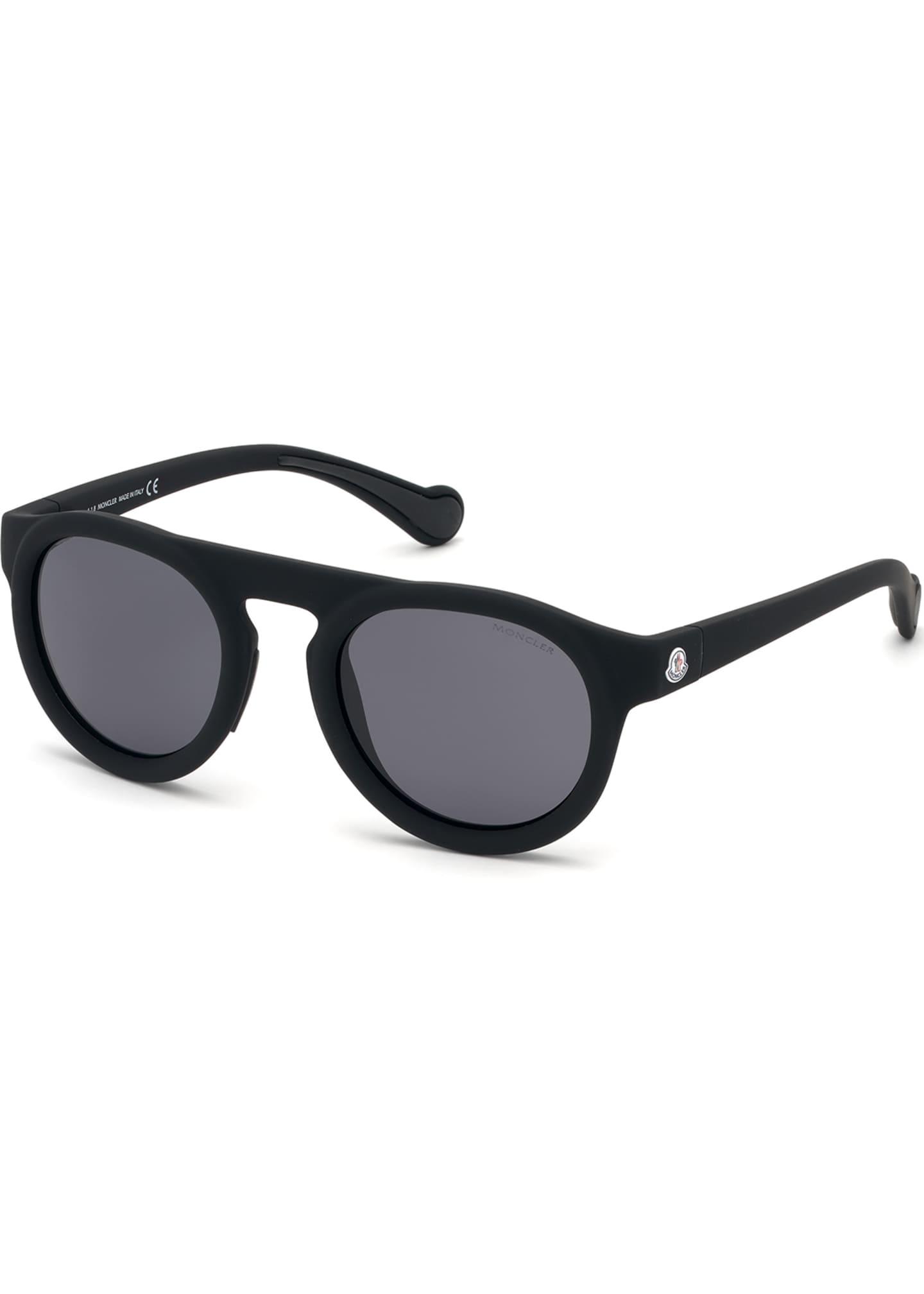 Moncler Men's Polarized Rectangle Sunglasses