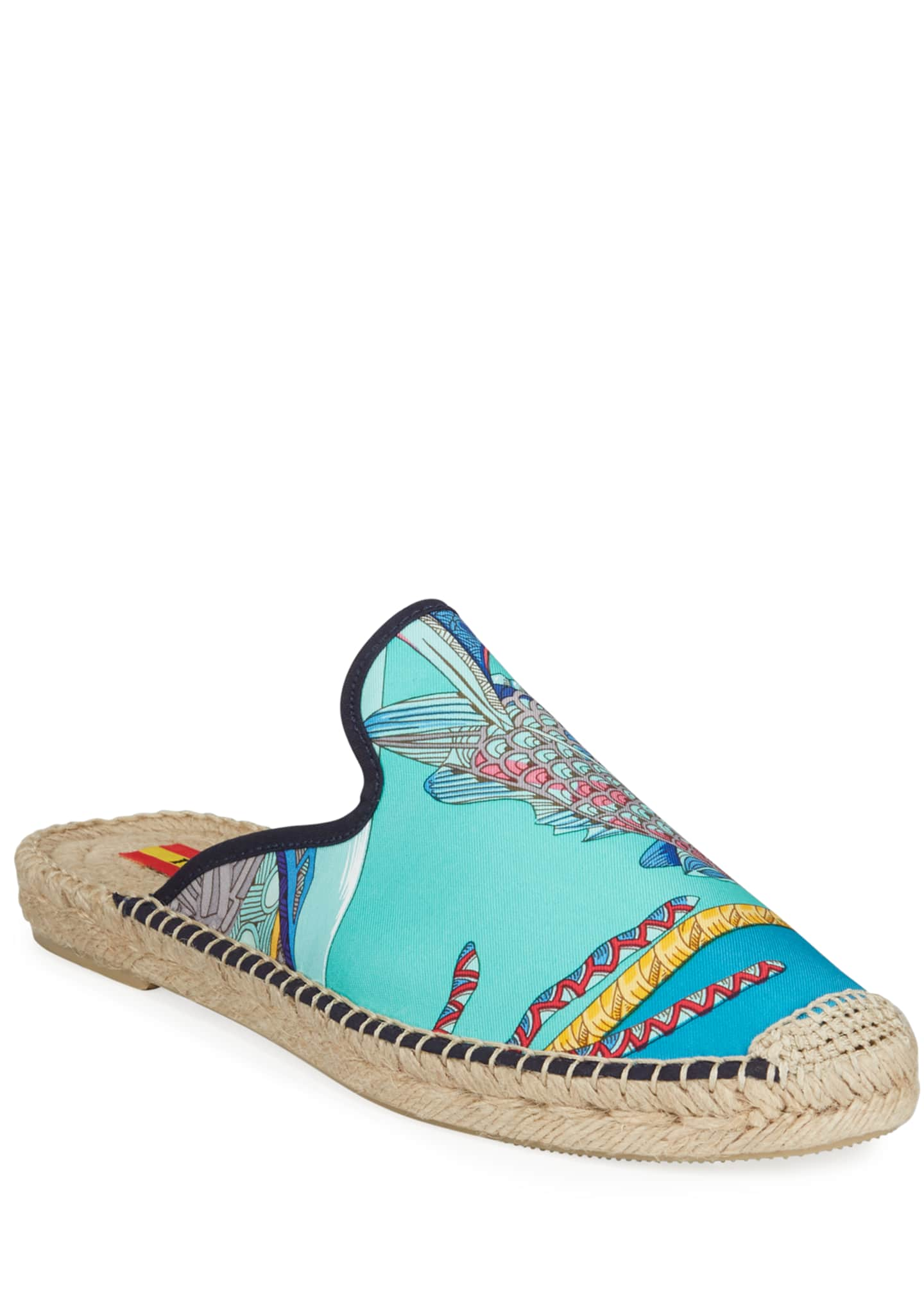 Respoke Galo Hermes Flat Espadrille Mules