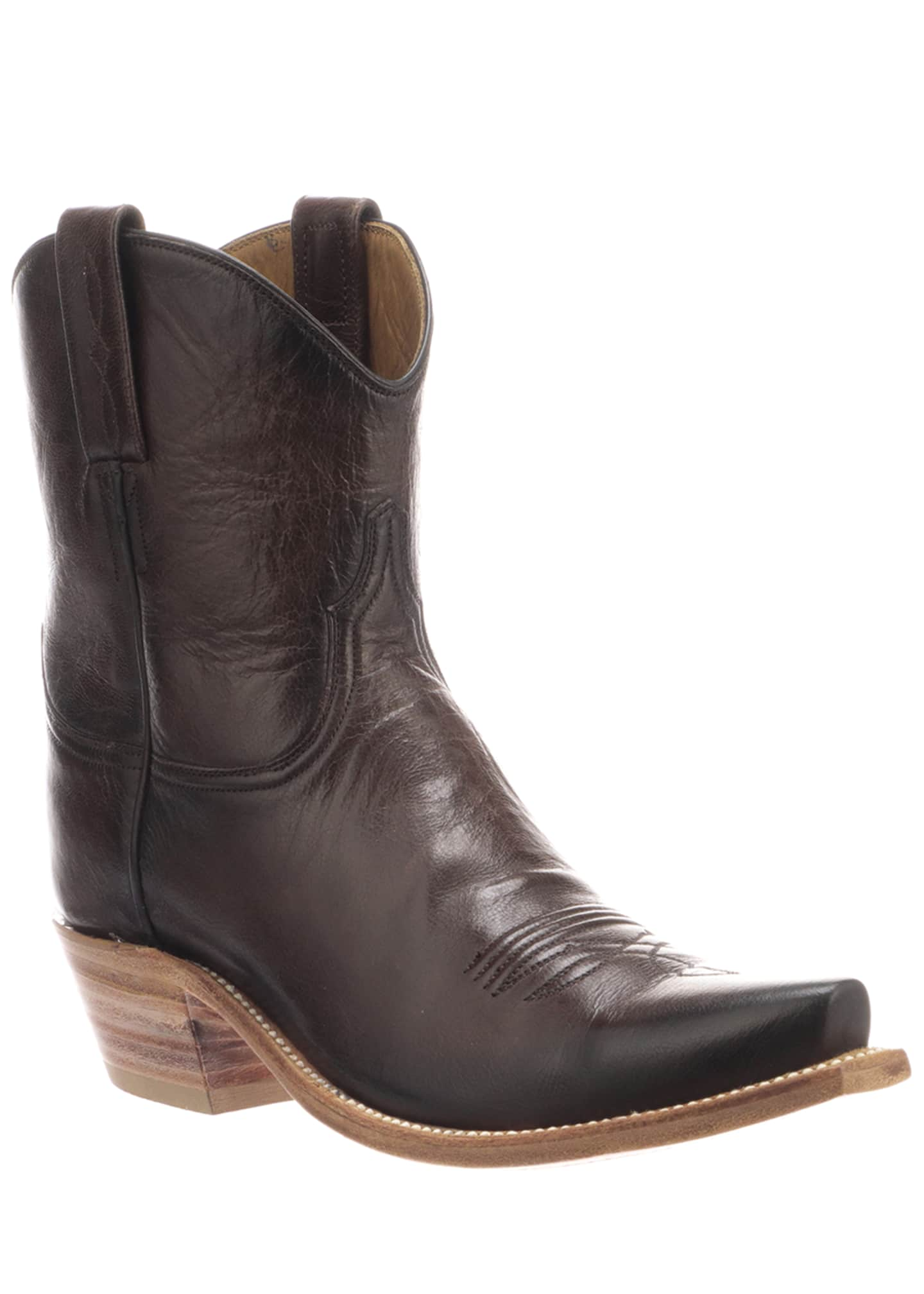 Lucchese Gaby Leather Pull-On Boots