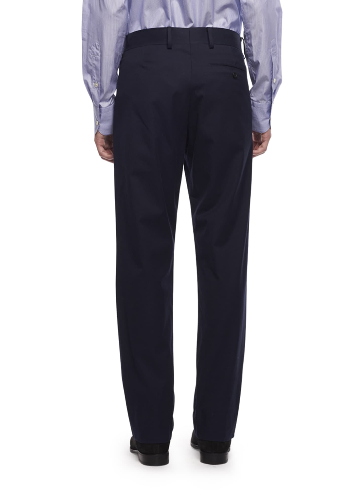 Image 2 of 2: Men's Hunter Tapered Twill Pants, Blue
