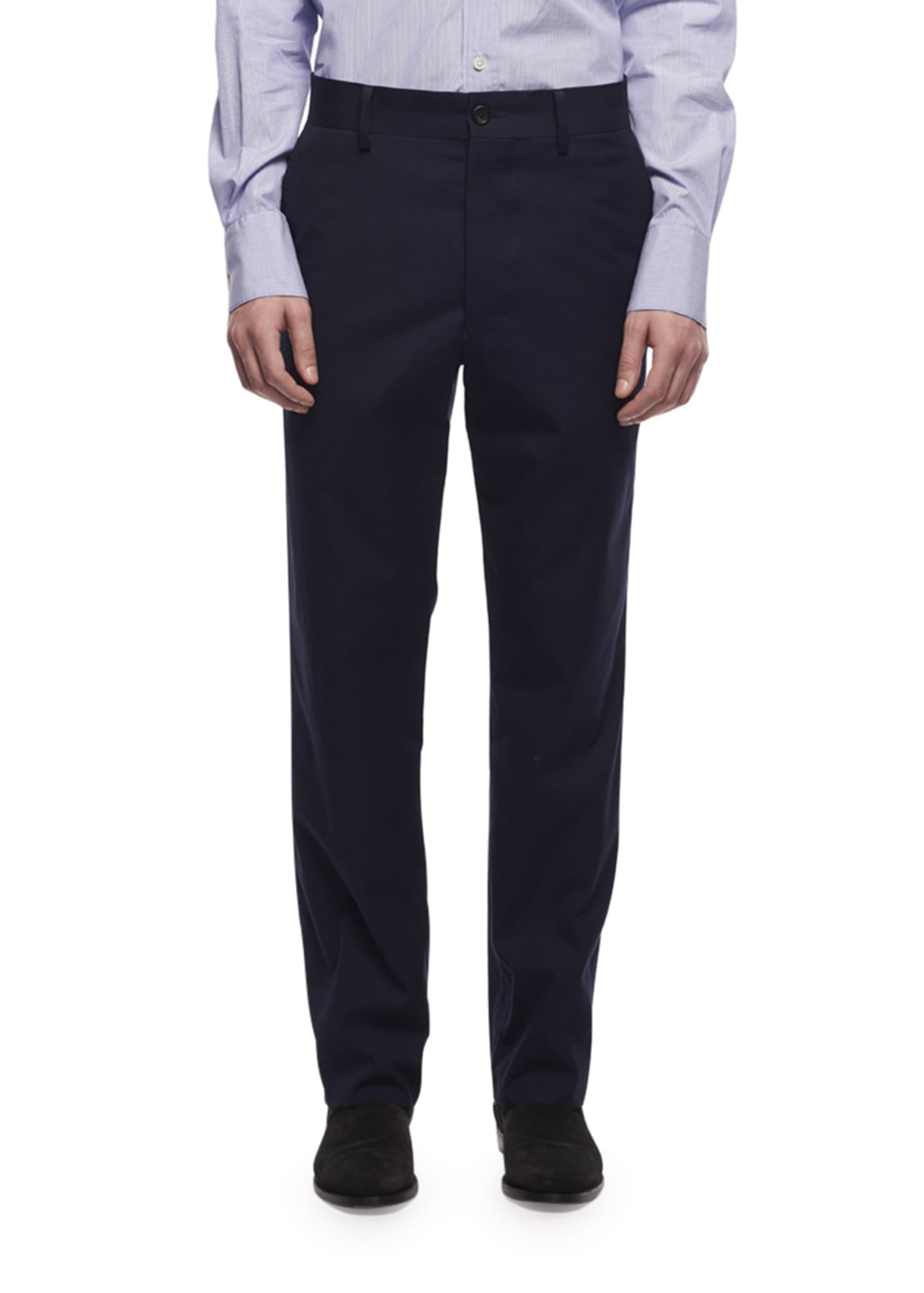 Image 1 of 2: Men's Hunter Tapered Twill Pants, Blue