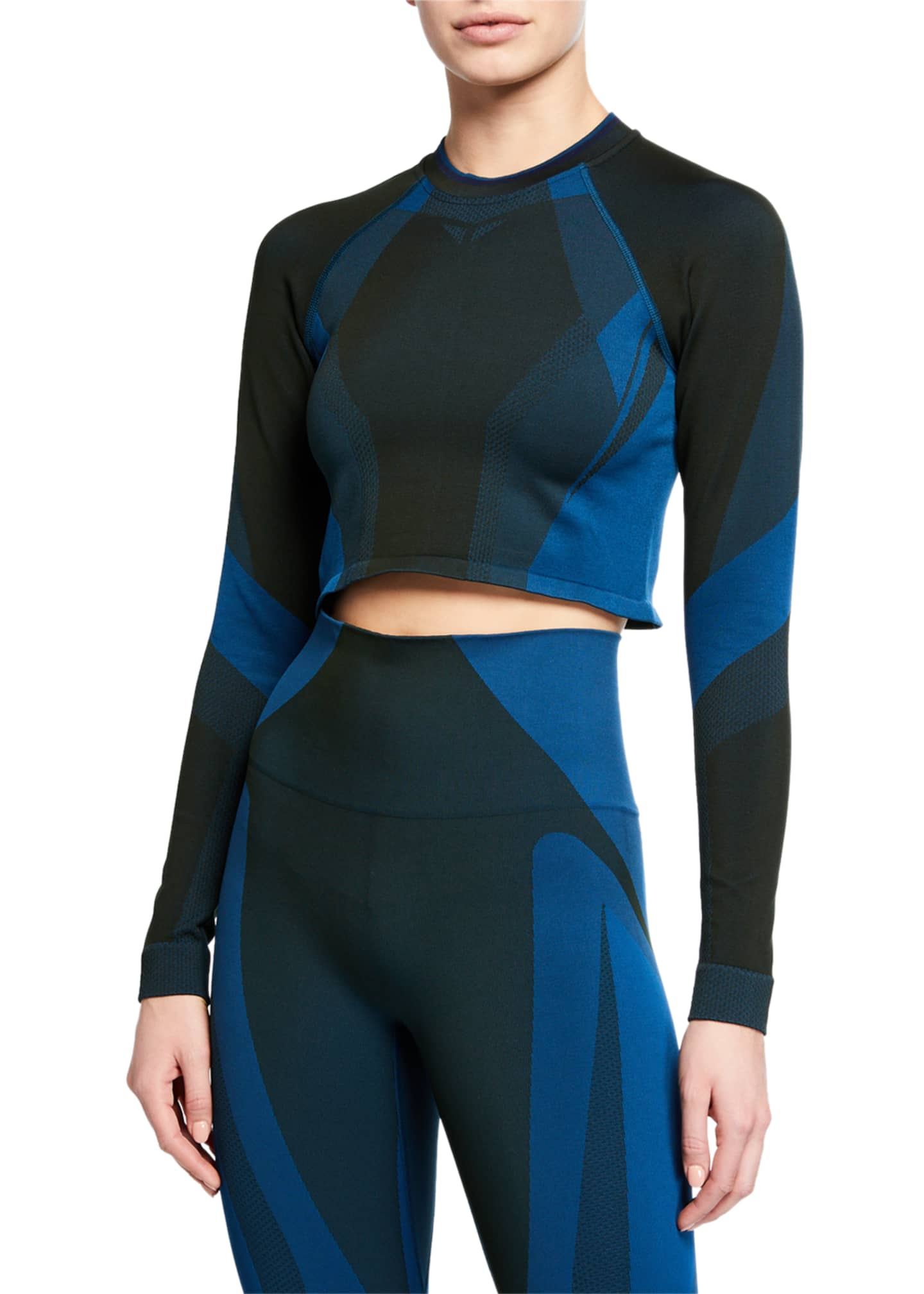 LNDR All Seasons Seamless Cropped Performance Top