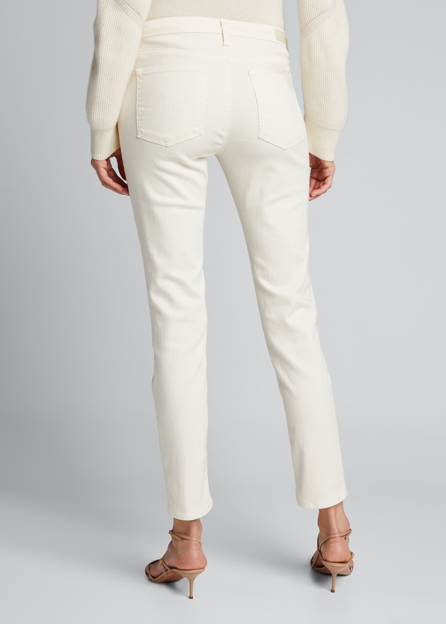 Image 2 of 5: Prima Mid-Rise Ankle Cigarette Jeans