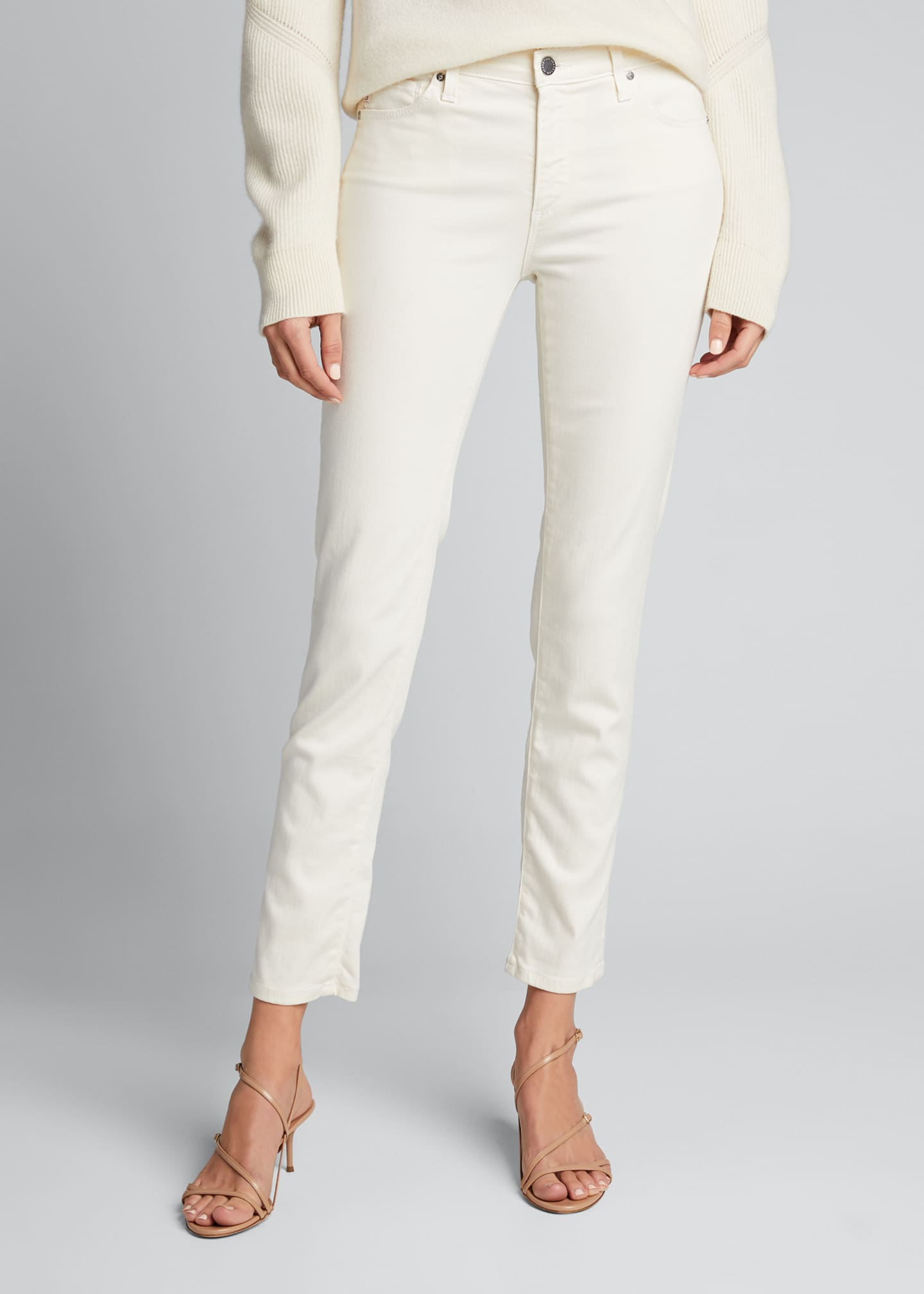 Image 3 of 5: Prima Mid-Rise Ankle Cigarette Jeans