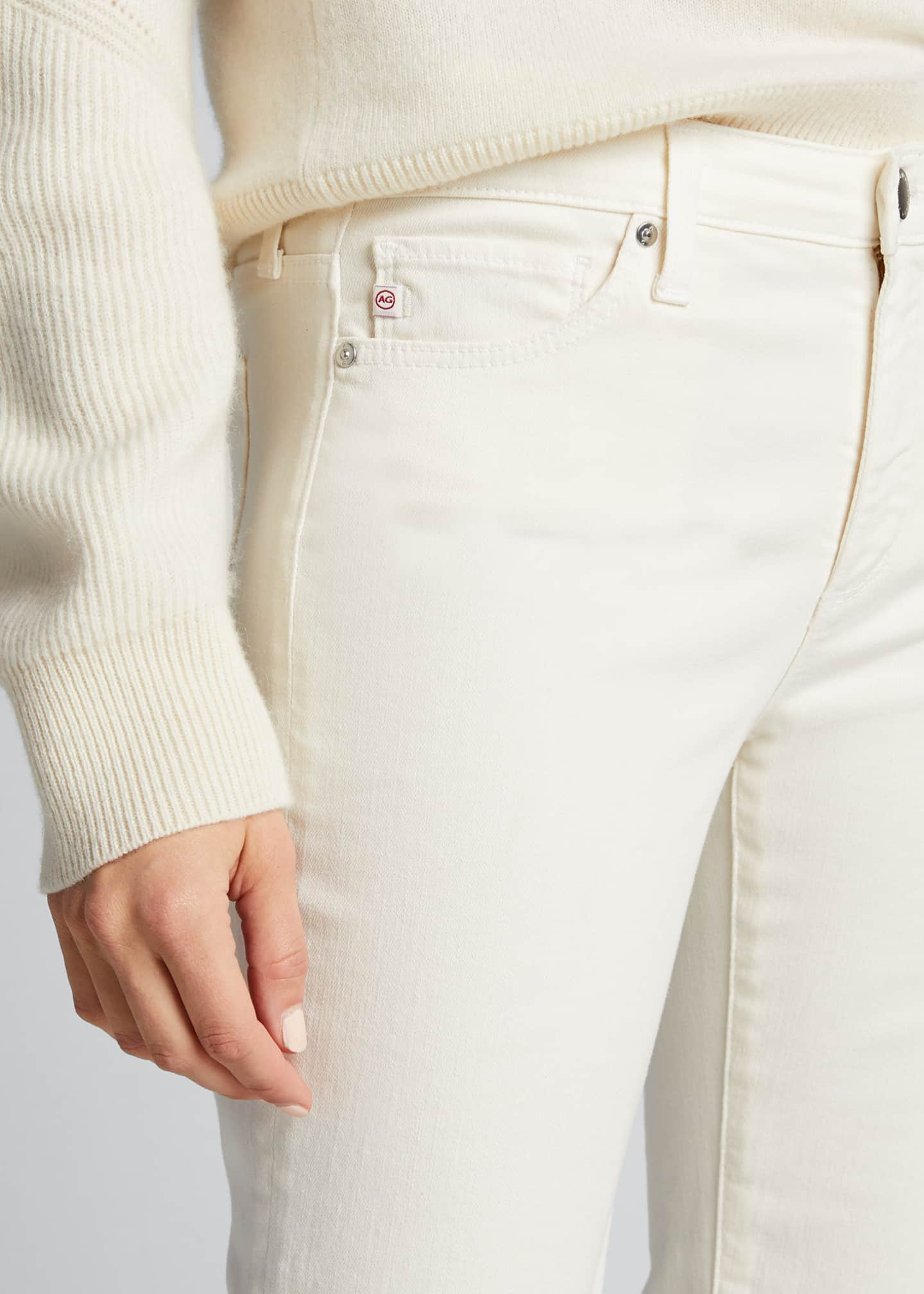Image 4 of 5: Prima Mid-Rise Ankle Cigarette Jeans