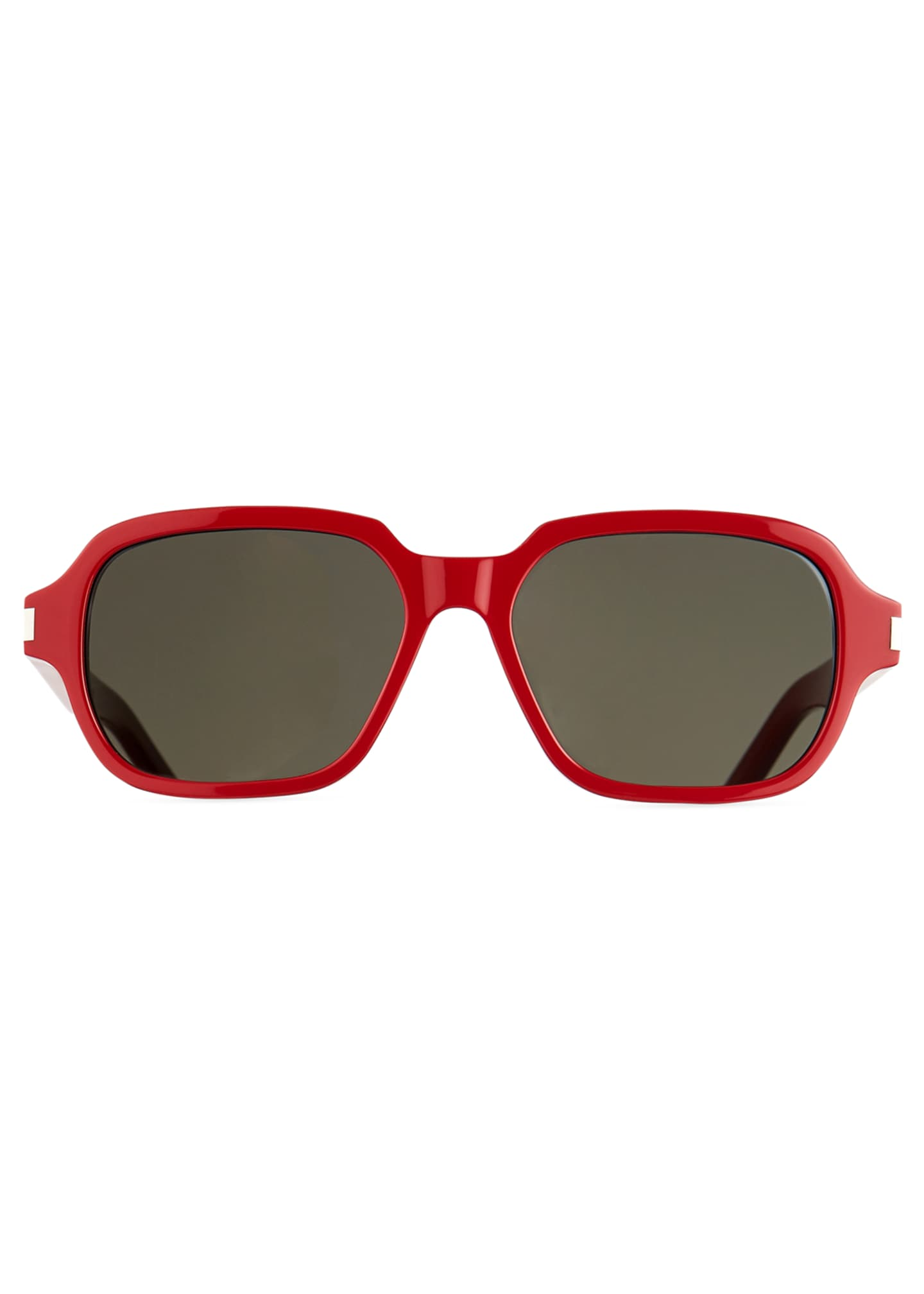 Image 2 of 3: Men's SL 292 Rectangle Acetate Sunglasses