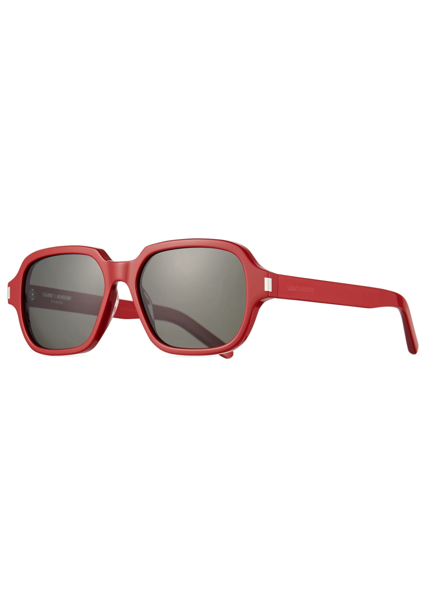 Image 1 of 3: Men's SL 292 Rectangle Acetate Sunglasses