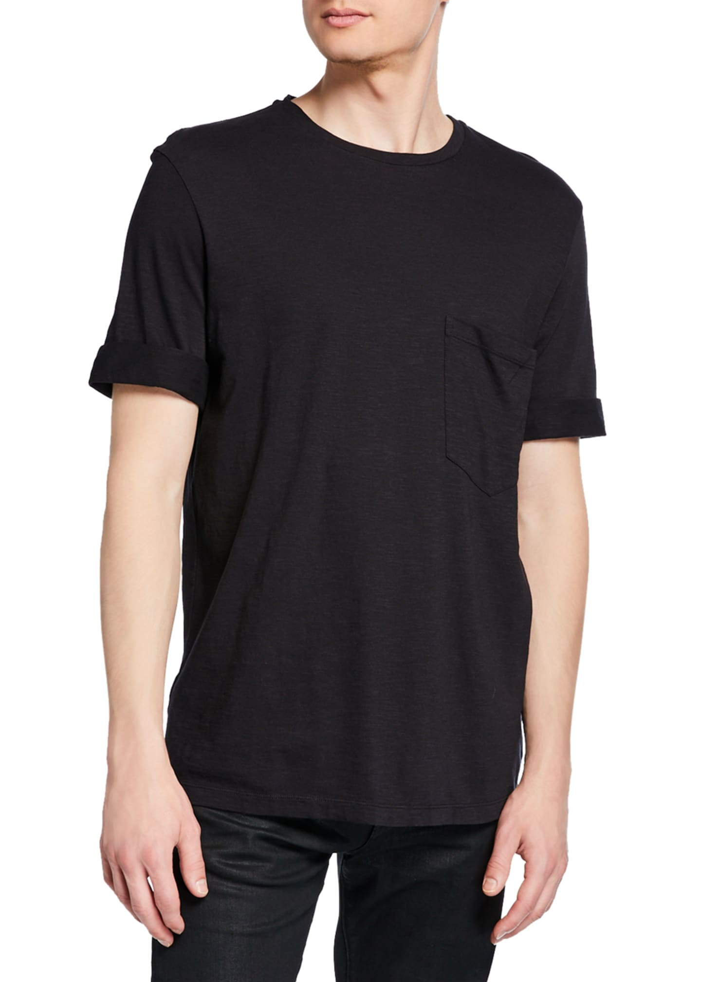 Neil Barrett Men's Jersey Pocket T-Shirt