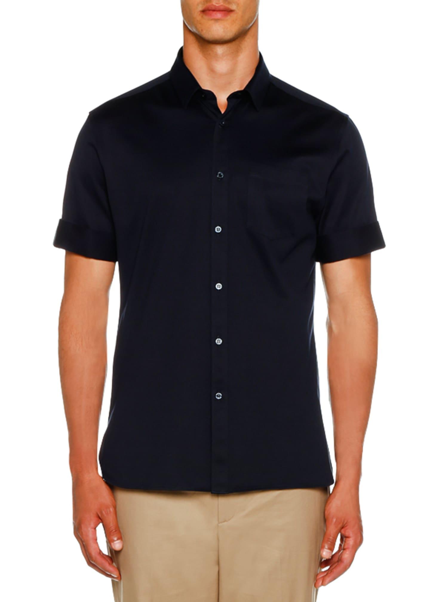 Neil Barrett Men's Short-Sleeve Knit Shirt