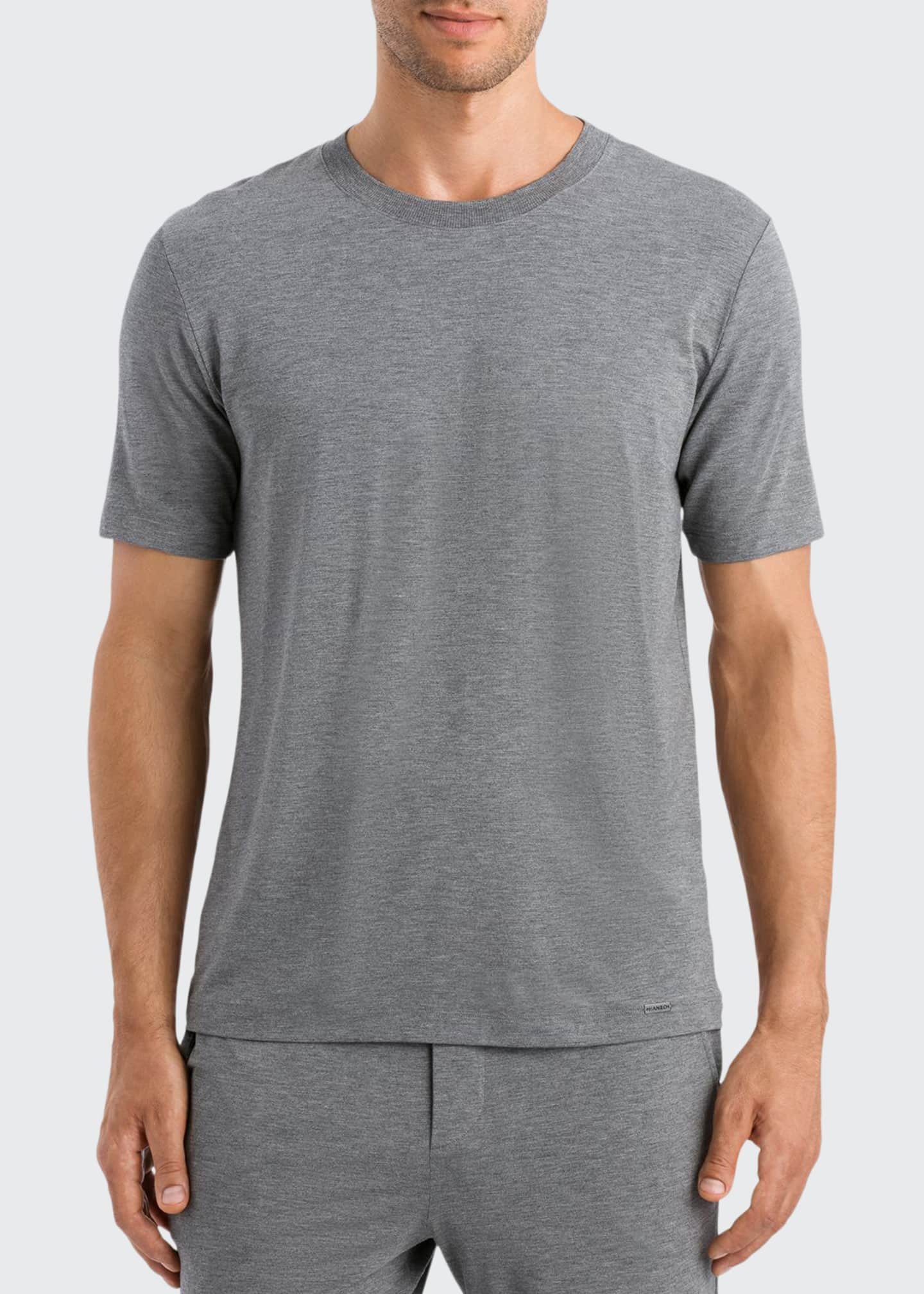Hanro Men's Casual Short-Sleeve T-Shirt
