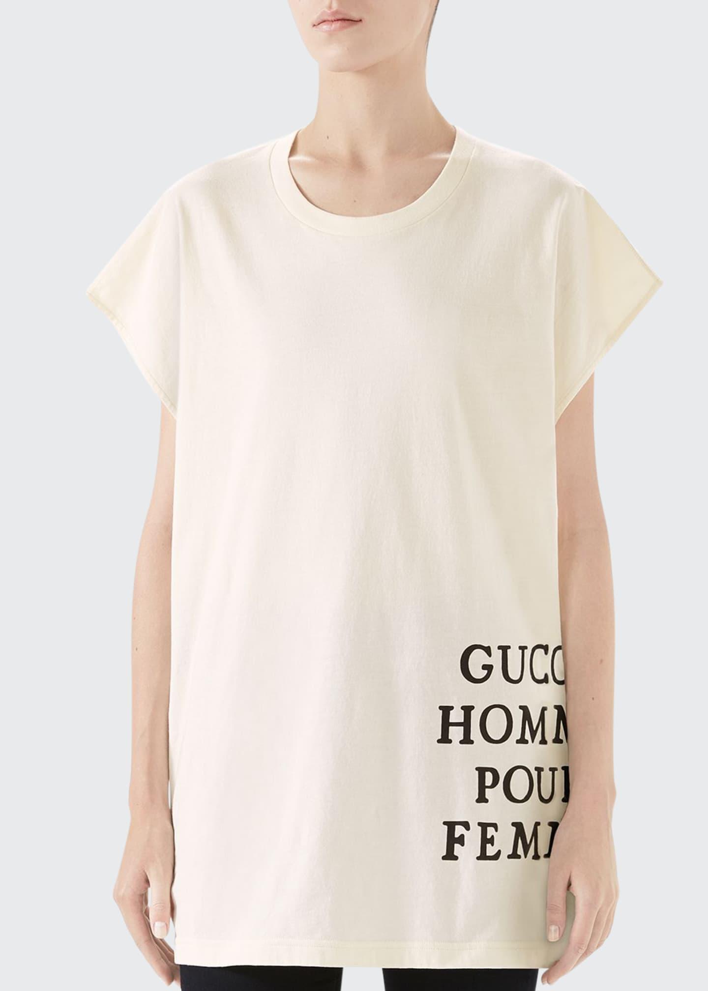 Gucci Homme pour Femme T-Shirt